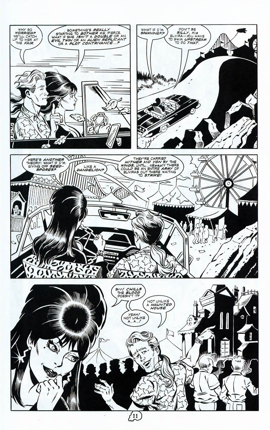 Read online Elvira, Mistress of the Dark comic -  Issue #117 - 13
