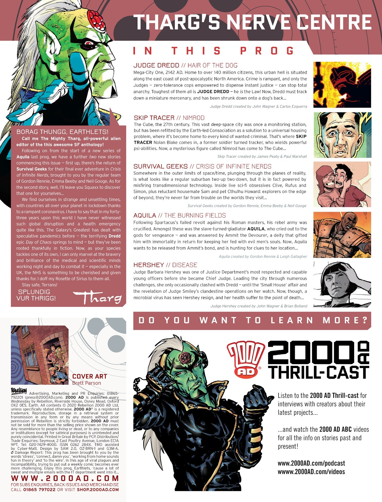 2000 AD issue 2175 - Page 2