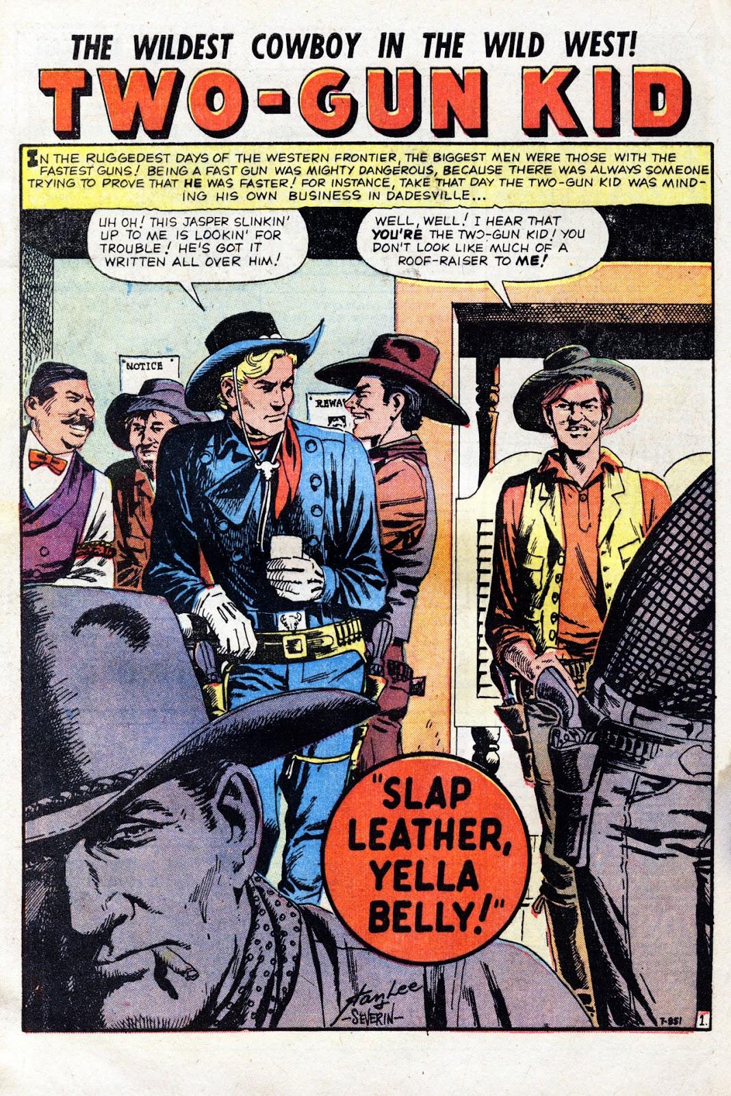Gunsmoke Western issue 60 - Page 28