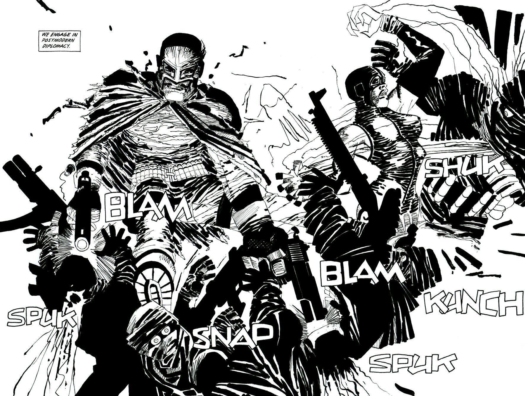 Read online Frank Miller's Holy Terror comic -  Issue # TPB - 79