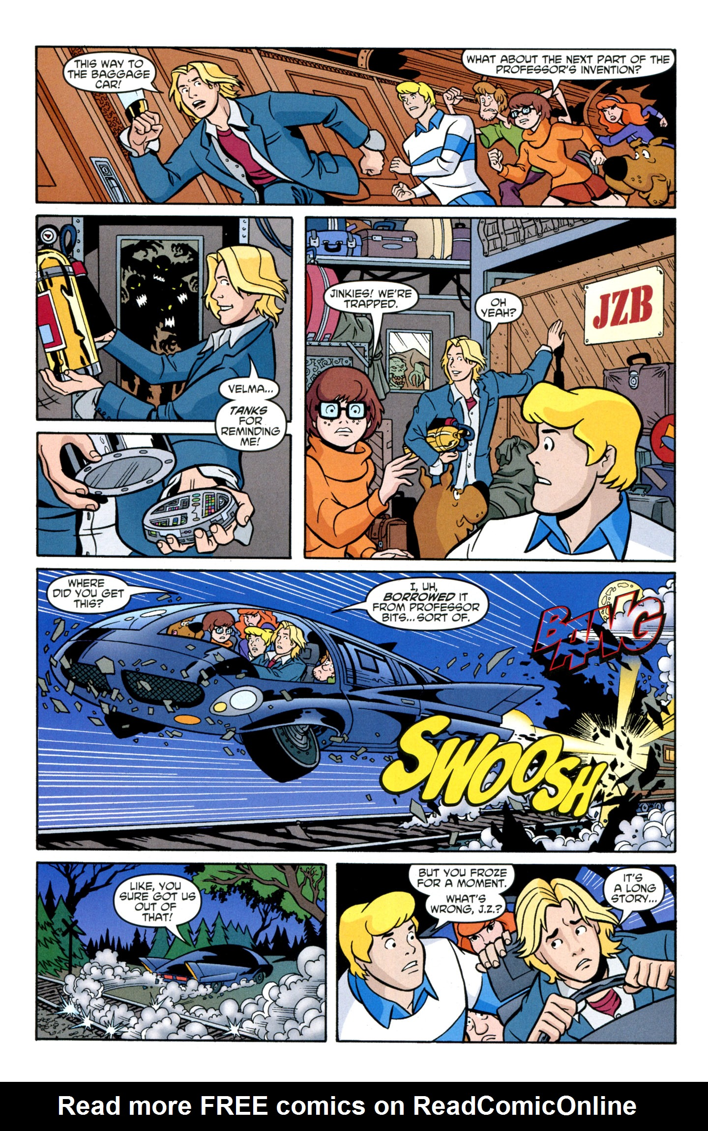 Read online Scooby-Doo: Where Are You? comic -  Issue #29 - 24