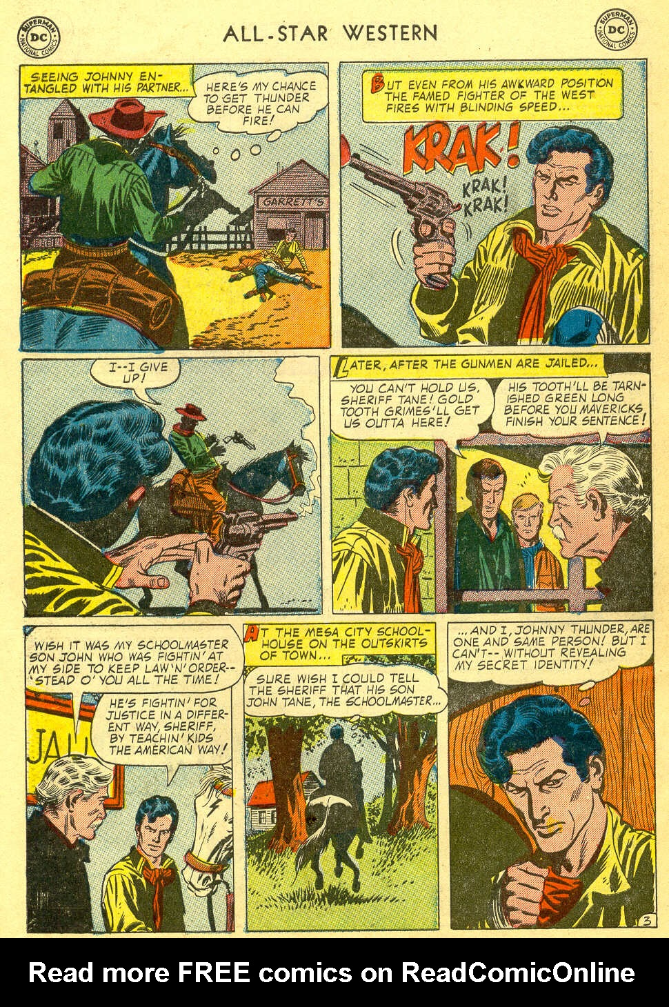 Read online All-Star Western (1951) comic -  Issue #78 - 30