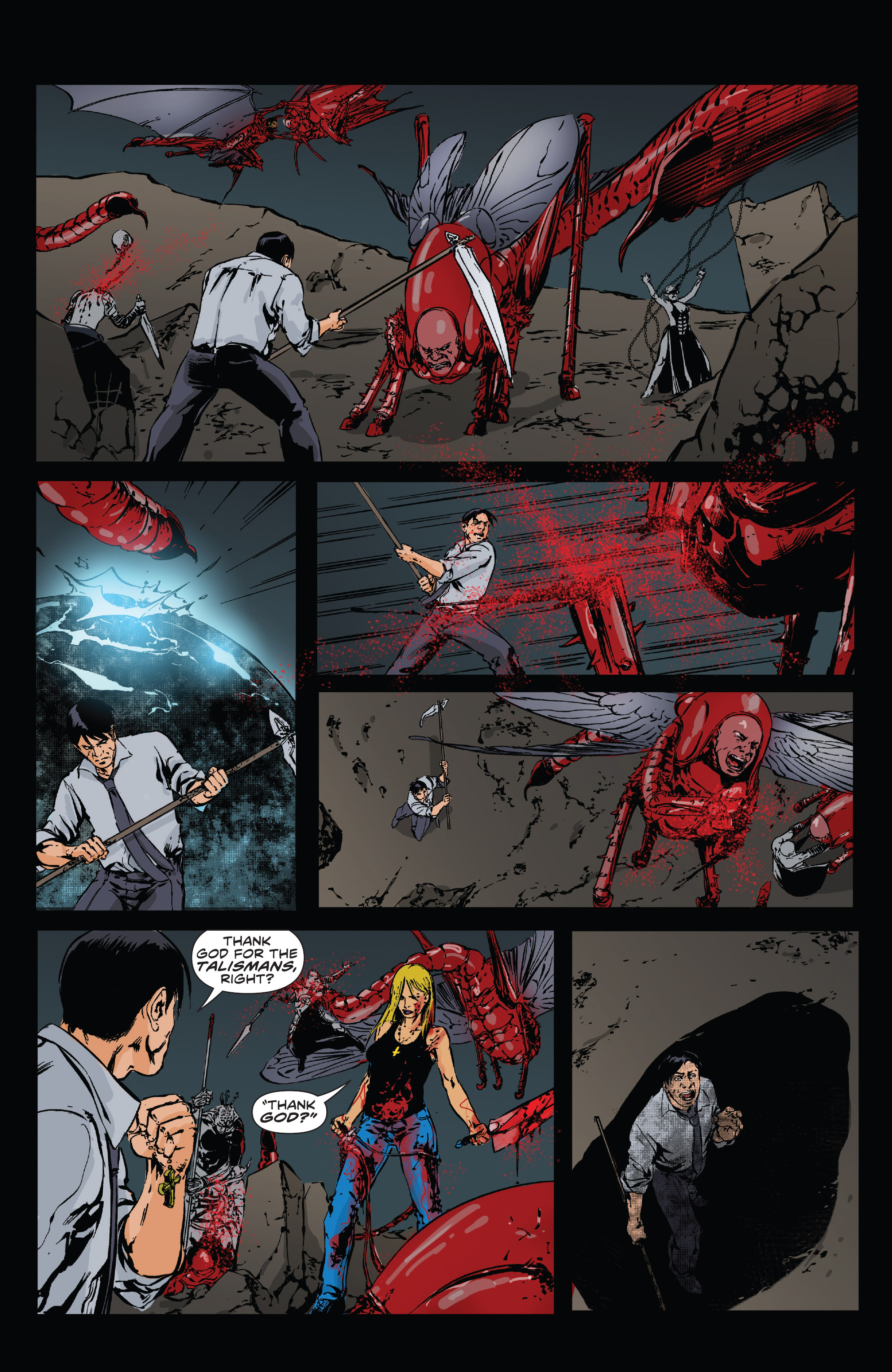 Read online Clive Barker's Hellraiser: The Dark Watch comic -  Issue # TPB 3 - 91