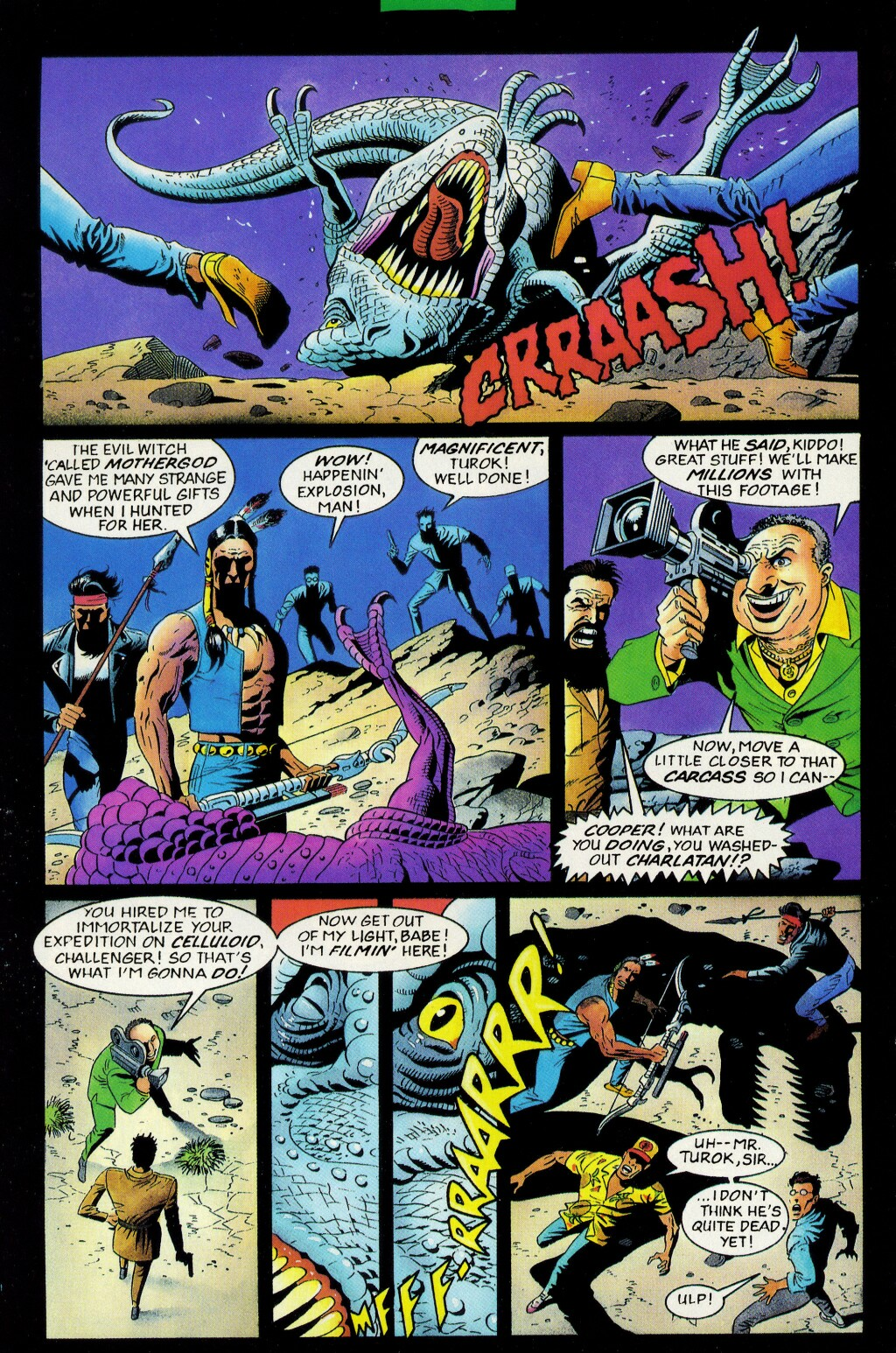 Read online Turok, Dinosaur Hunter (1993) comic -  Issue #33 - 5