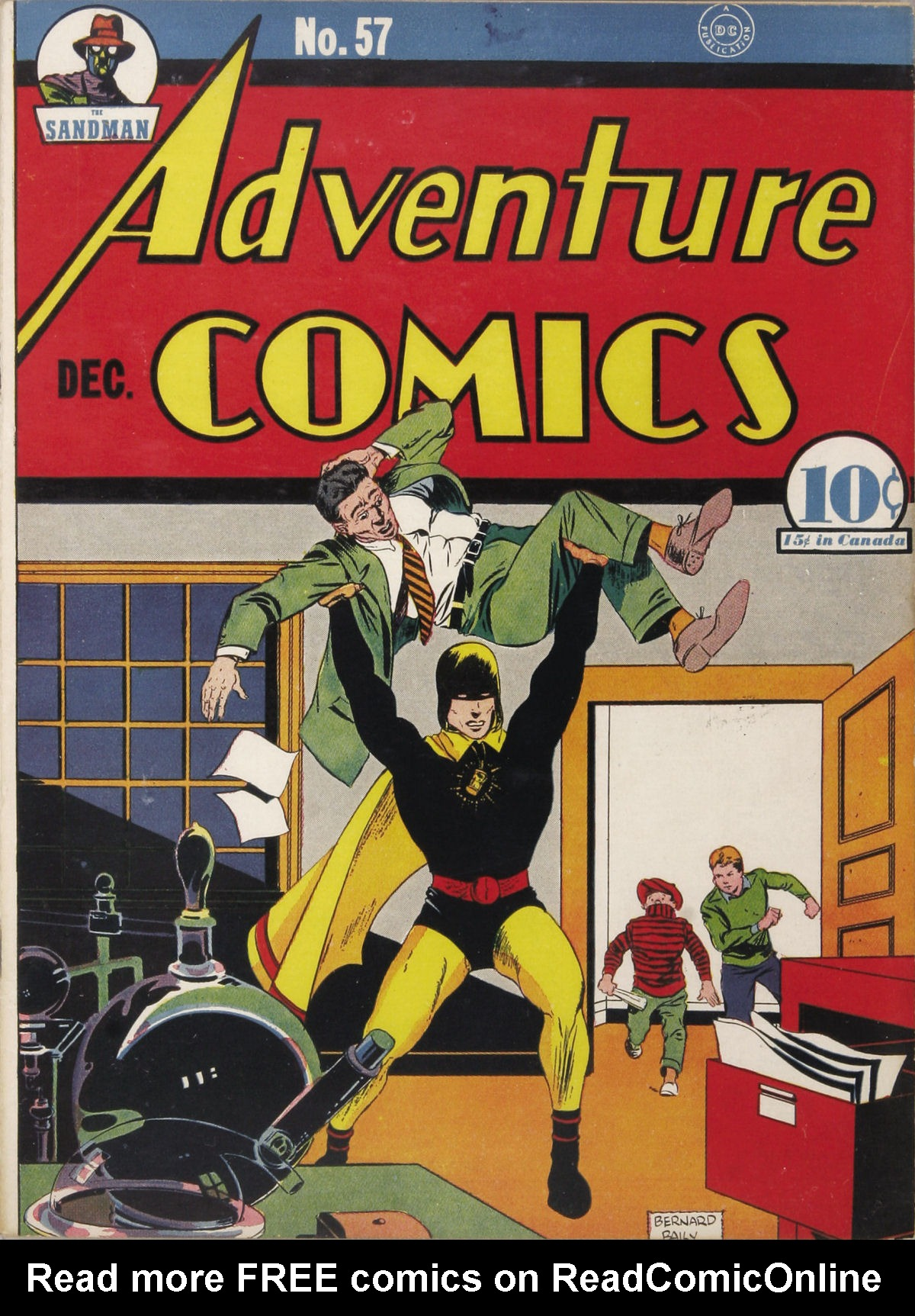 Read online Adventure Comics (1938) comic -  Issue #57 - 2