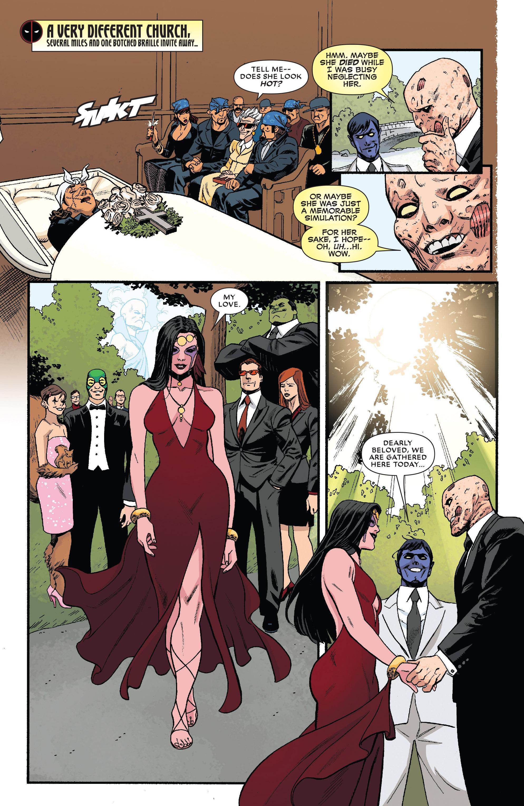 Read online True Believers: The Wedding of Deadpool comic -  Issue # Full - 14
