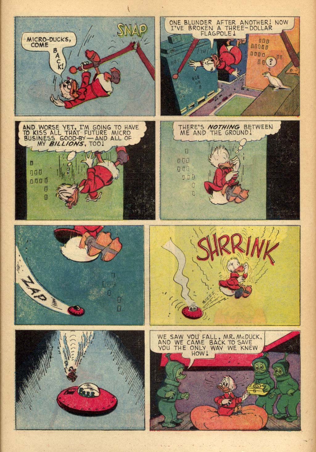 Read online Uncle Scrooge (1953) comic -  Issue #65 - 12