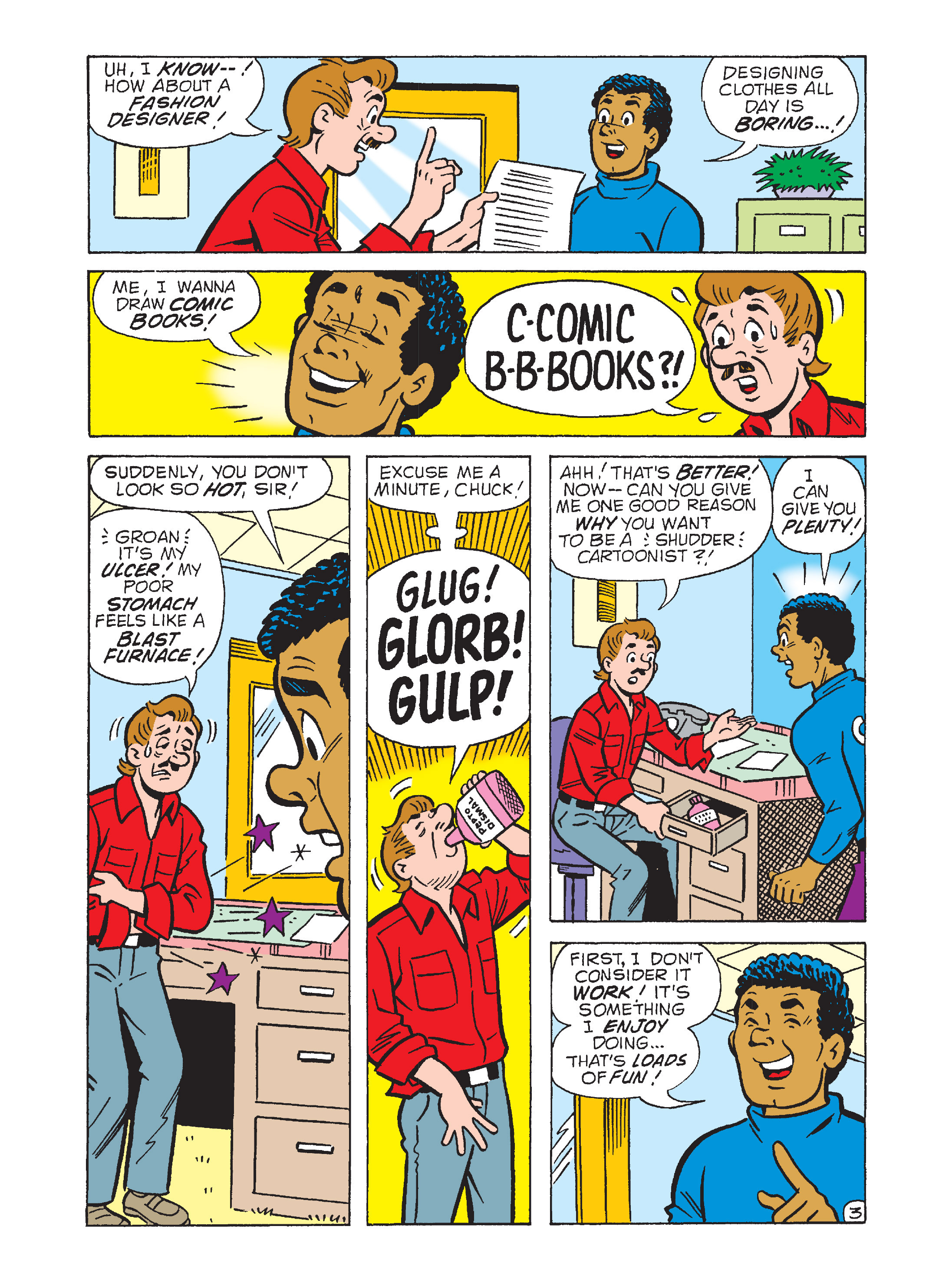 Read online Archie's Funhouse Double Digest comic -  Issue #12 - 113