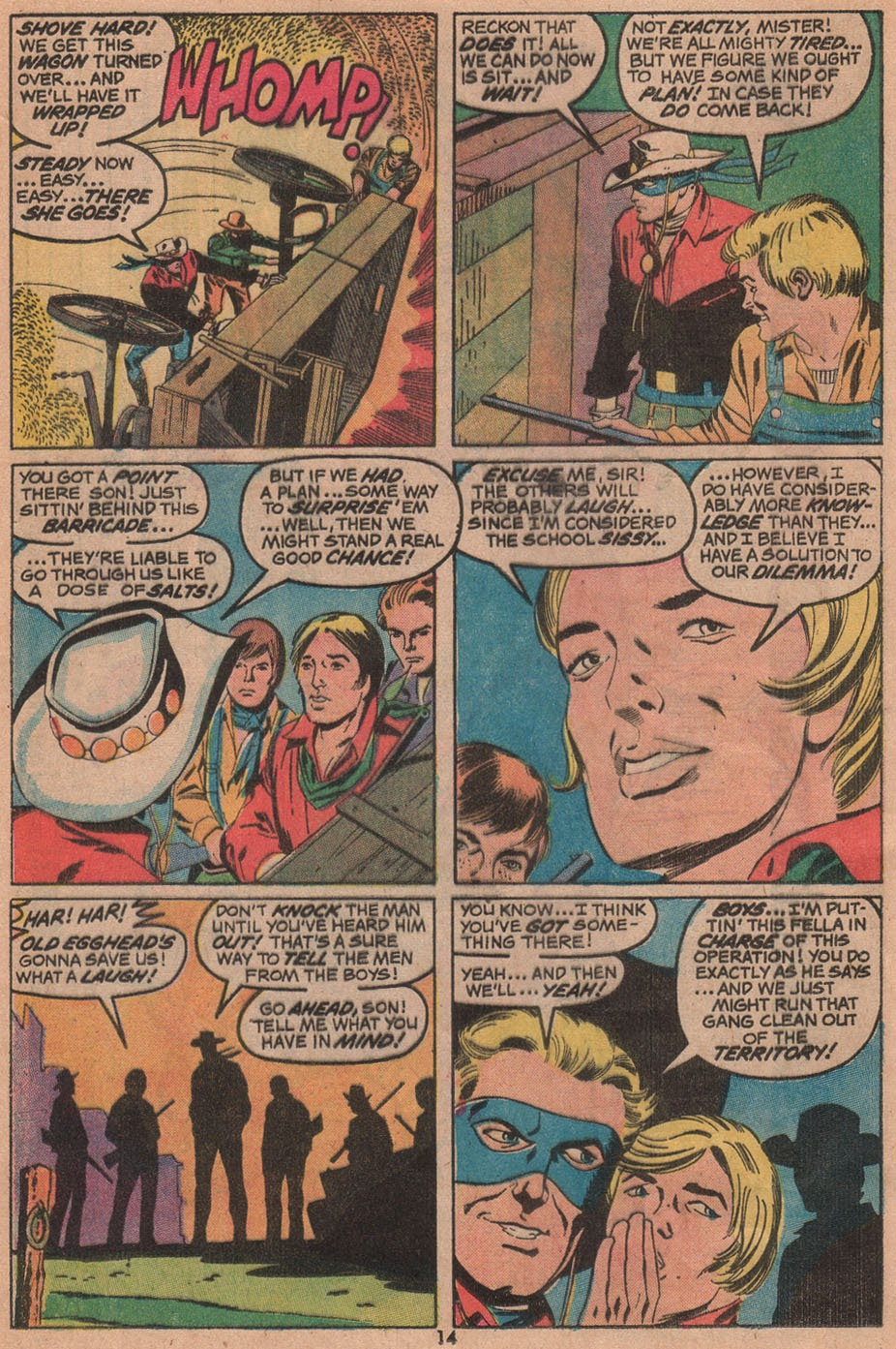 The Outlaw Kid (1970) issue 14 - Page 16