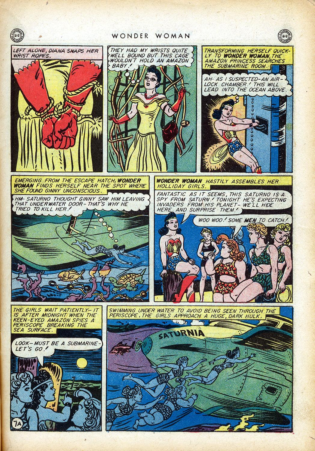 Read online Wonder Woman (1942) comic -  Issue #10 - 10