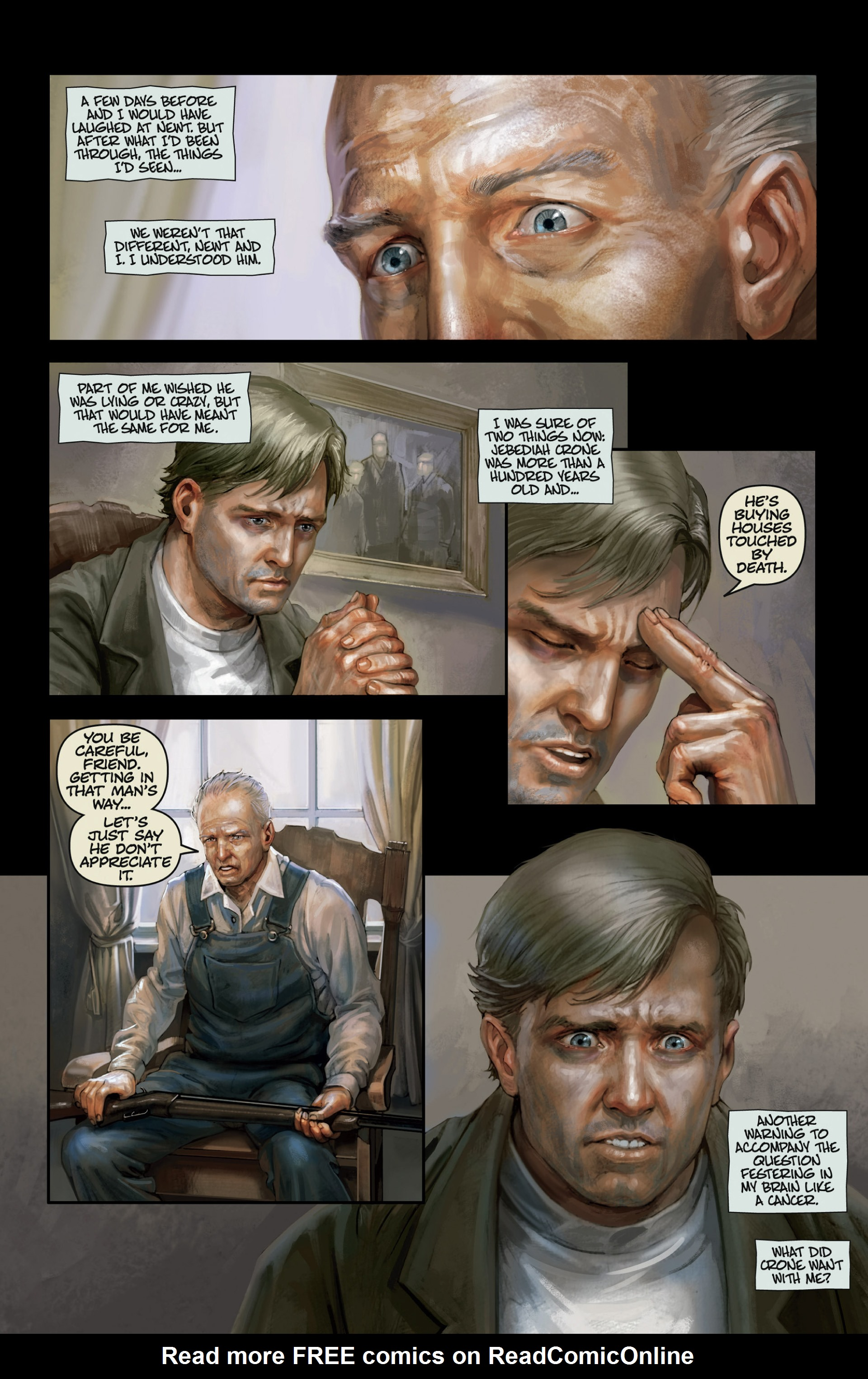Read online Abattoir comic -  Issue #3 - 19
