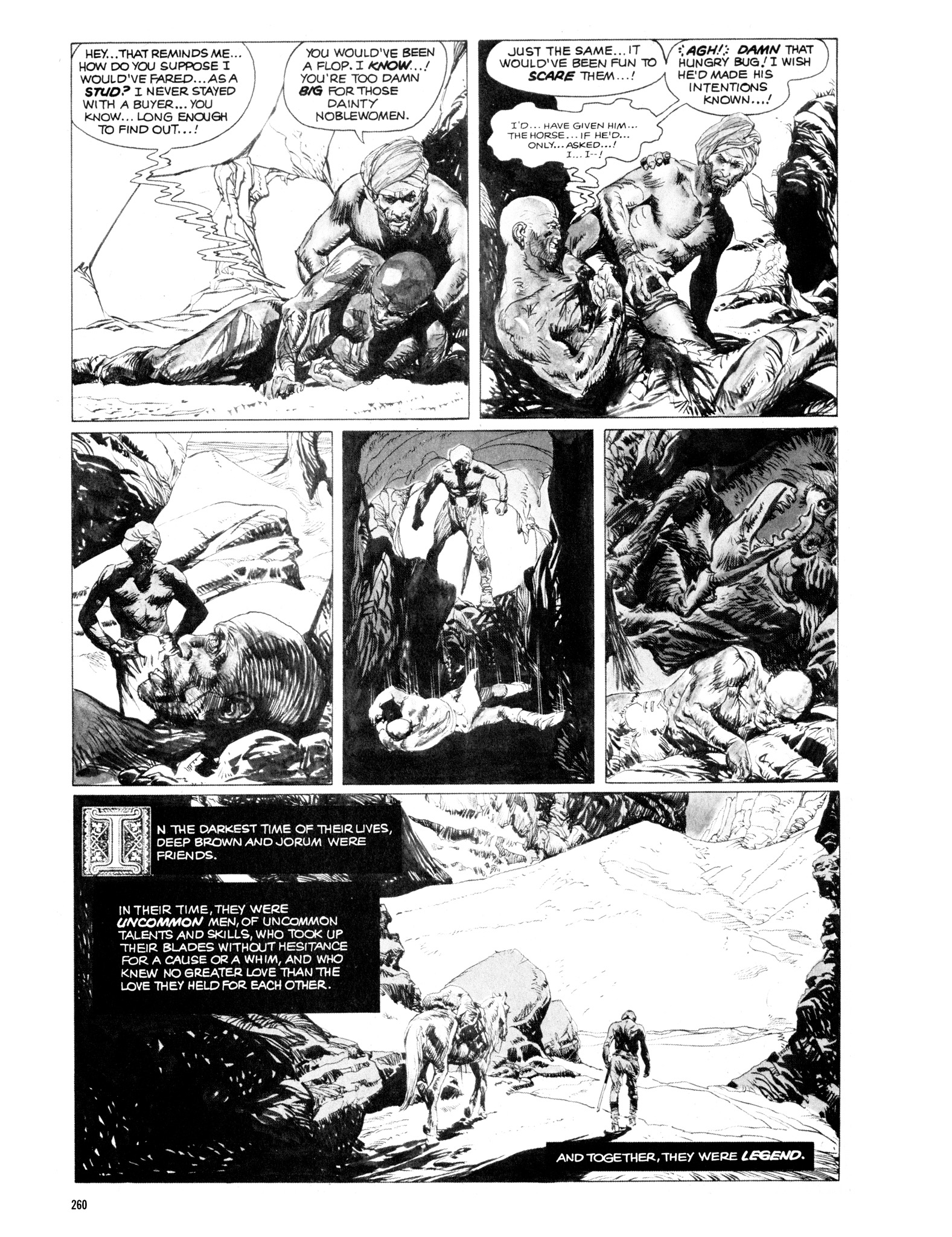 Read online Eerie Archives comic -  Issue # TPB 14 - 261