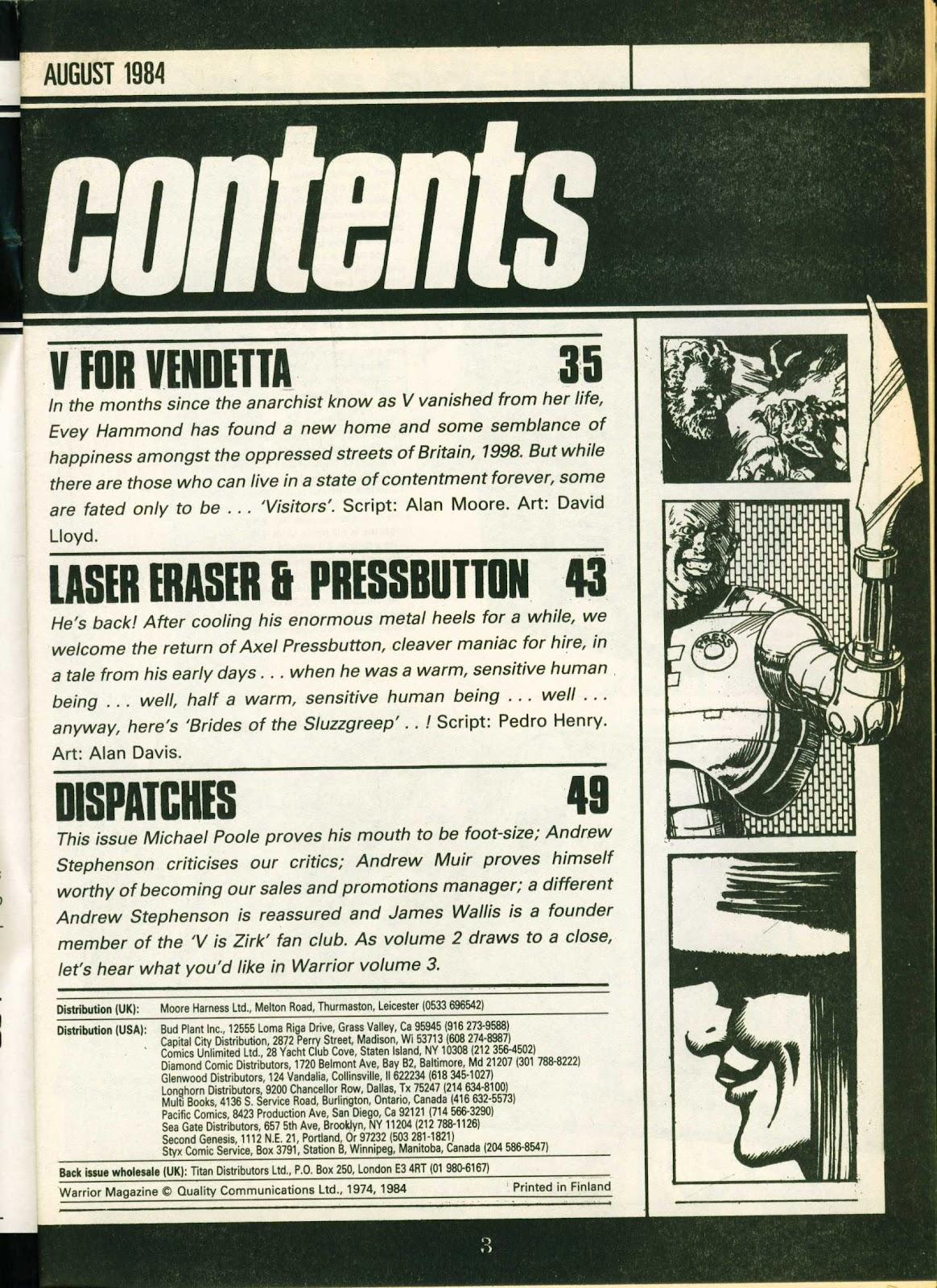 Warrior Issue #21 #22 - English 3