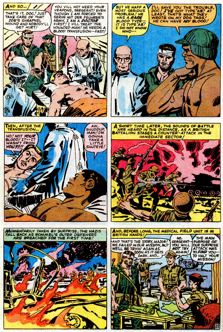 Read online Sgt. Fury comic -  Issue # _Special 5 - 28
