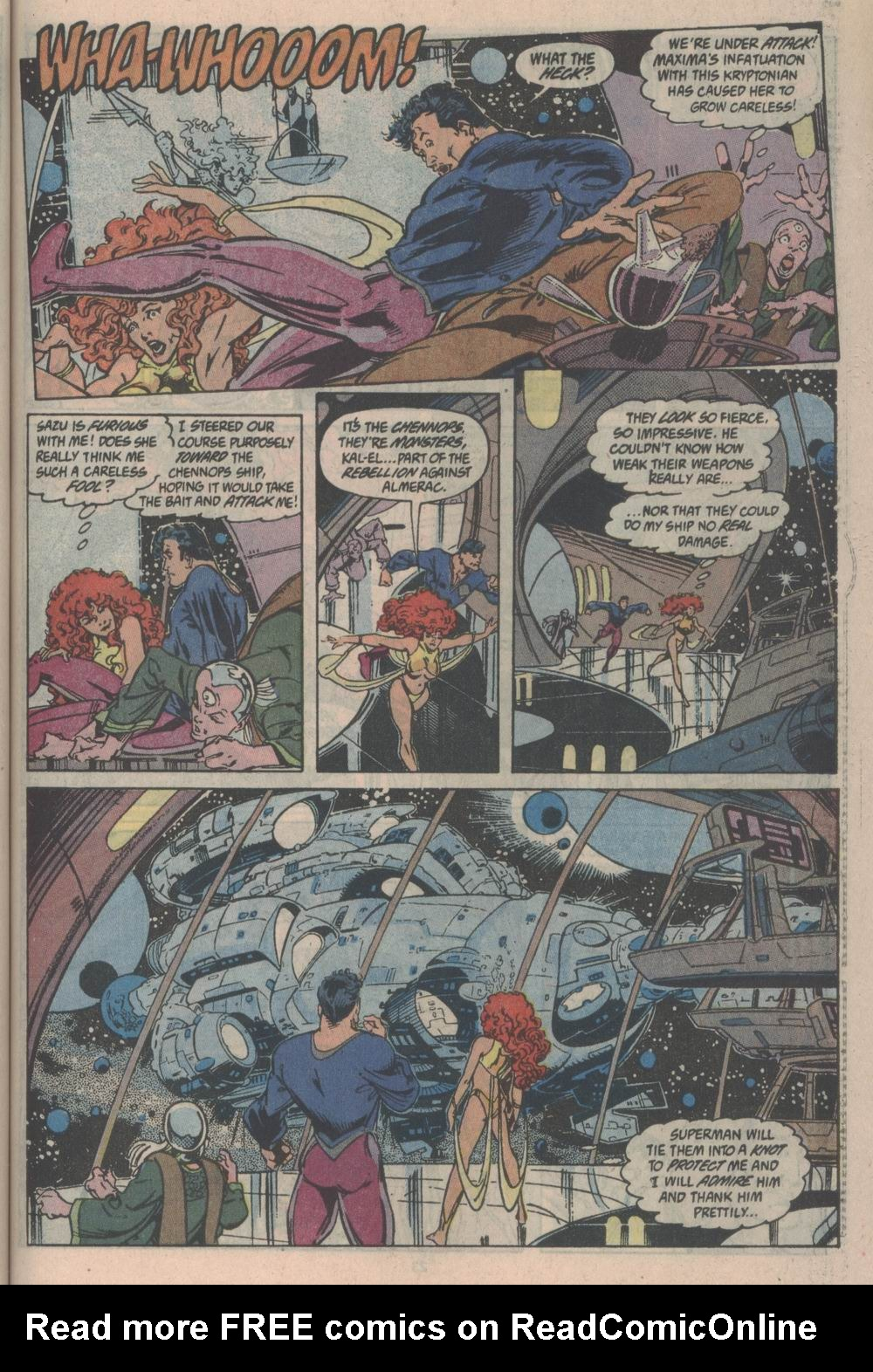 Adventures of Superman (1987) issue _Annual_3 - Page 22