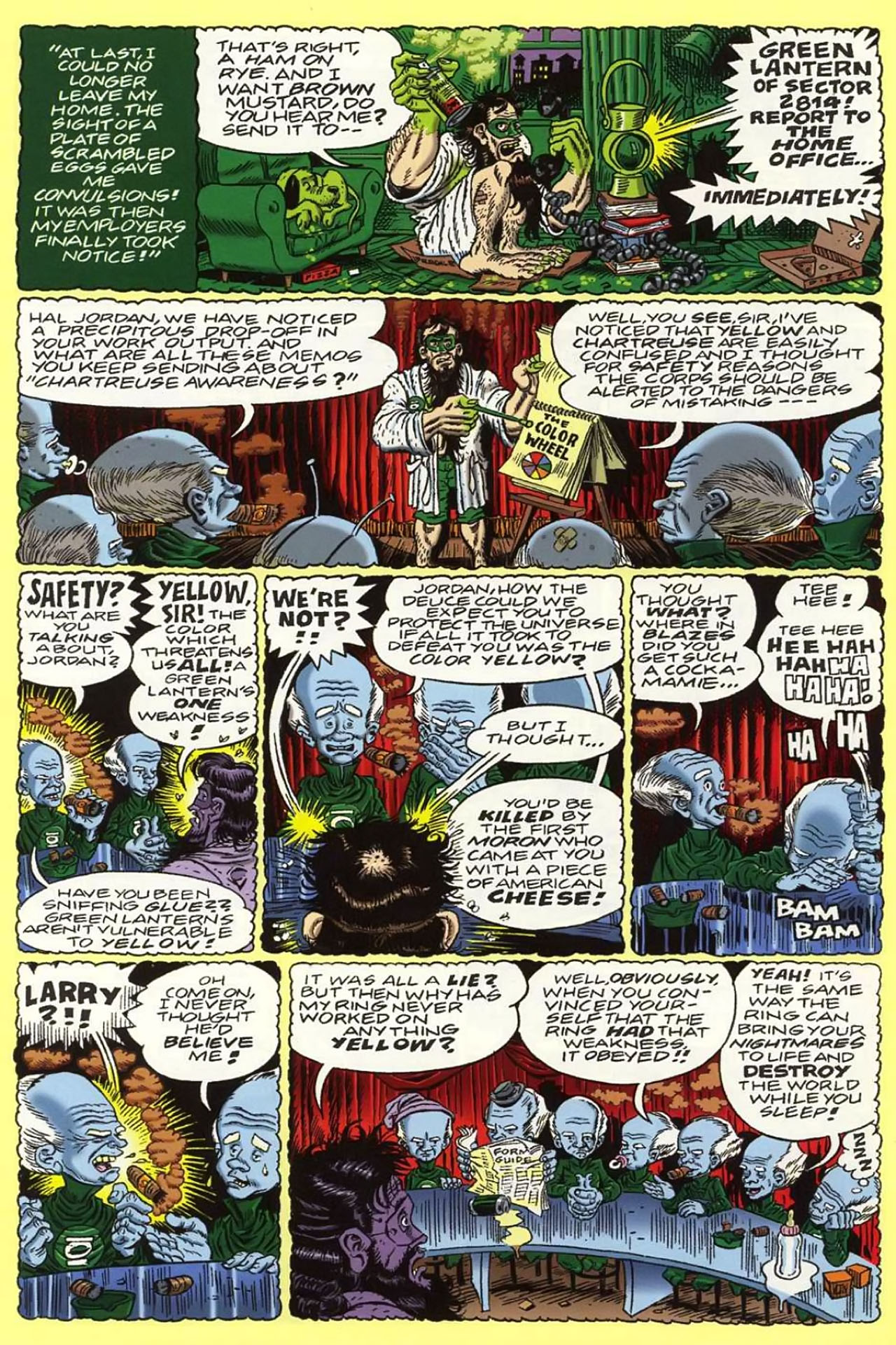 Read online Bizarro World comic -  Issue # TPB - 55