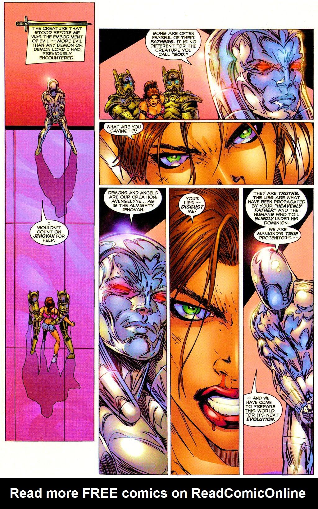 Read online Avengelyne (1999) comic -  Issue #Avengelyne (1999) Full - 11