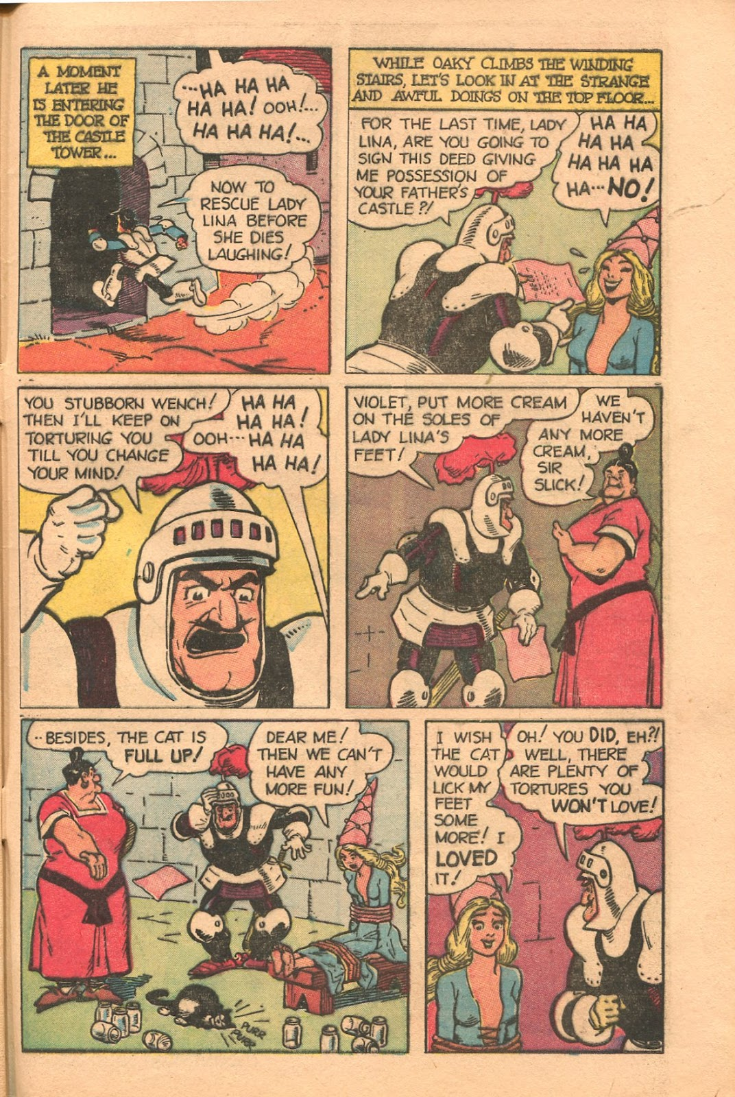Read online Famous Funnies comic -  Issue #165 - 47