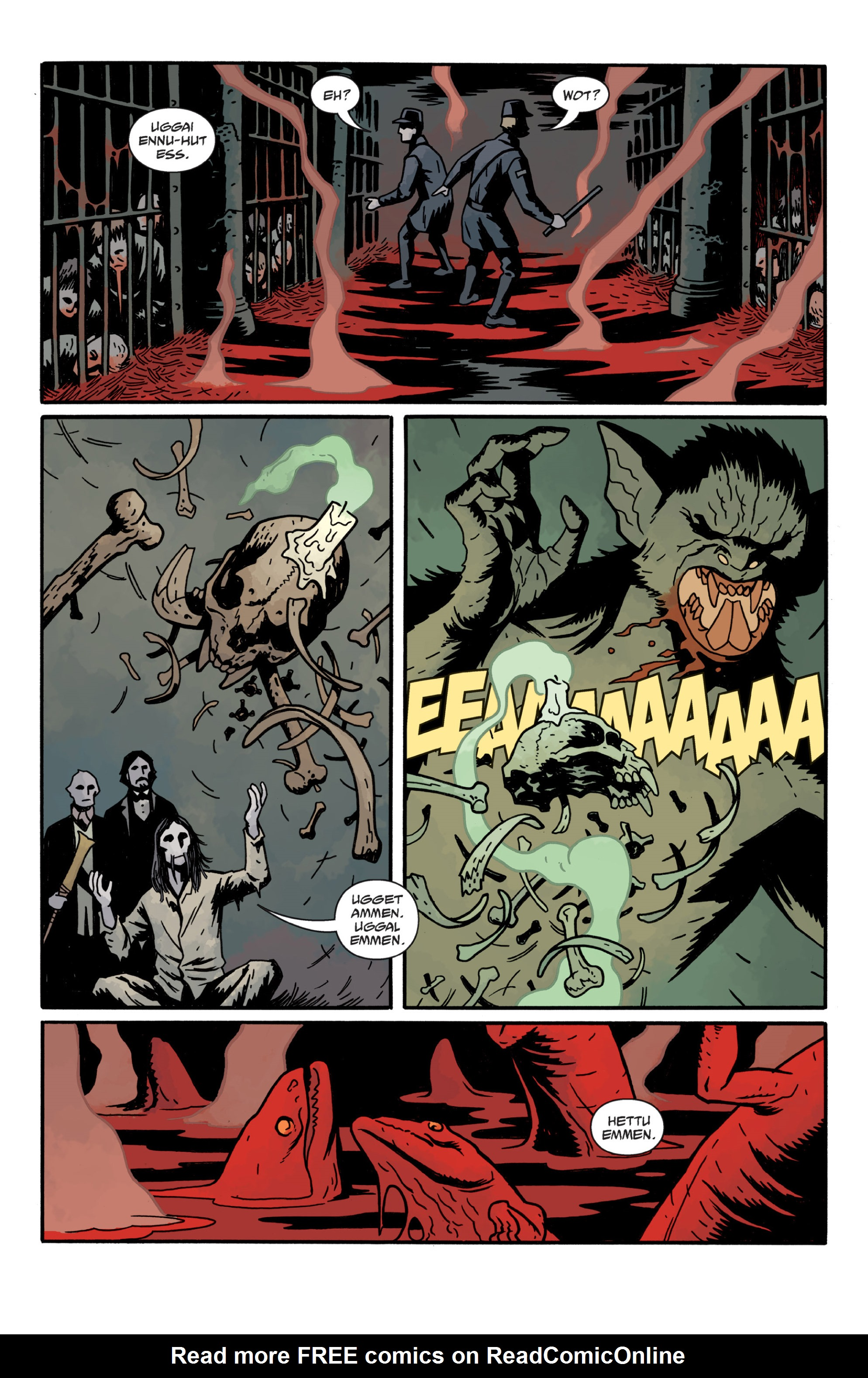 Read online Sir Edward Grey, Witchfinder: In the Service of Angels comic -  Issue # TPB - 110