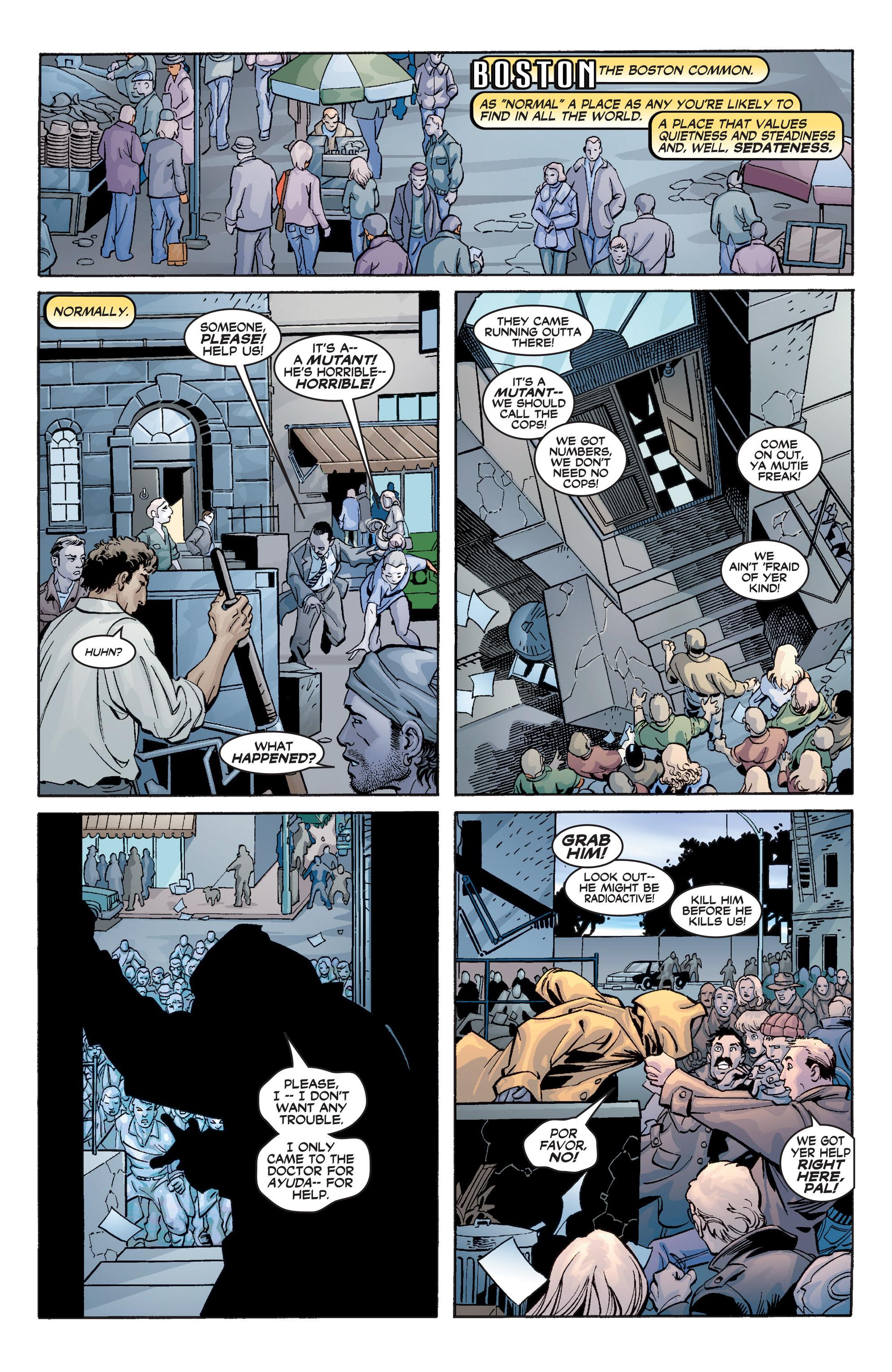 Read online Uncanny X-Men (1963) comic -  Issue #392 - 7