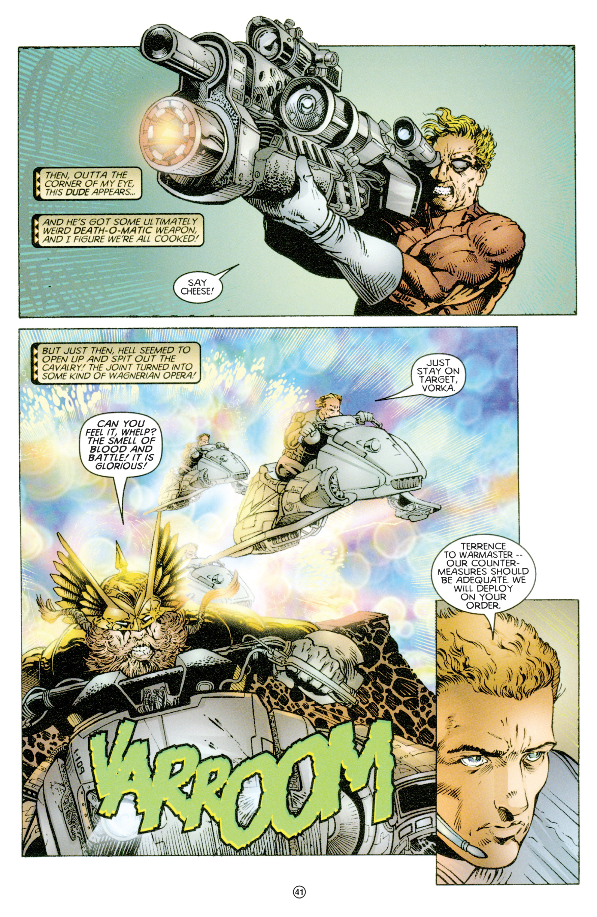 Read online Eternal Warriors comic -  Issue # Issue Time & Treachery - 40