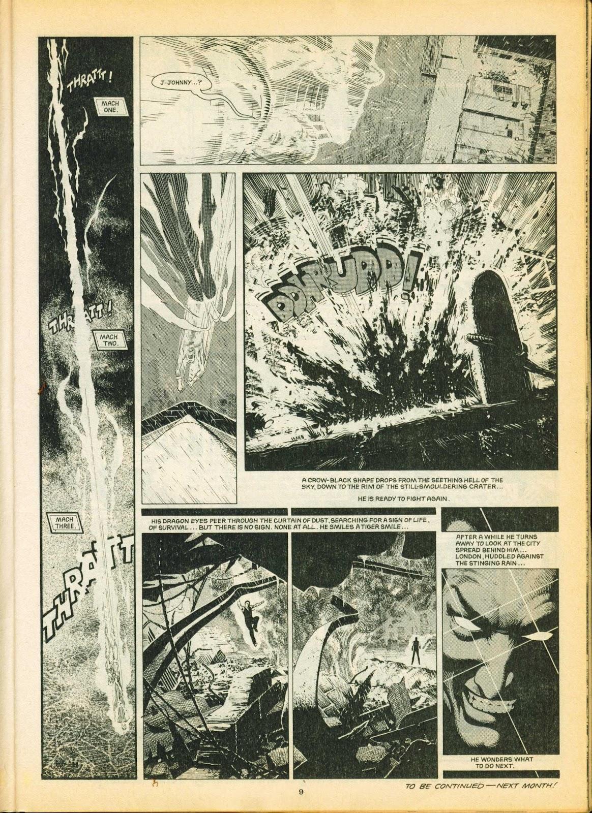Warrior Issue #5 #6 - English 9