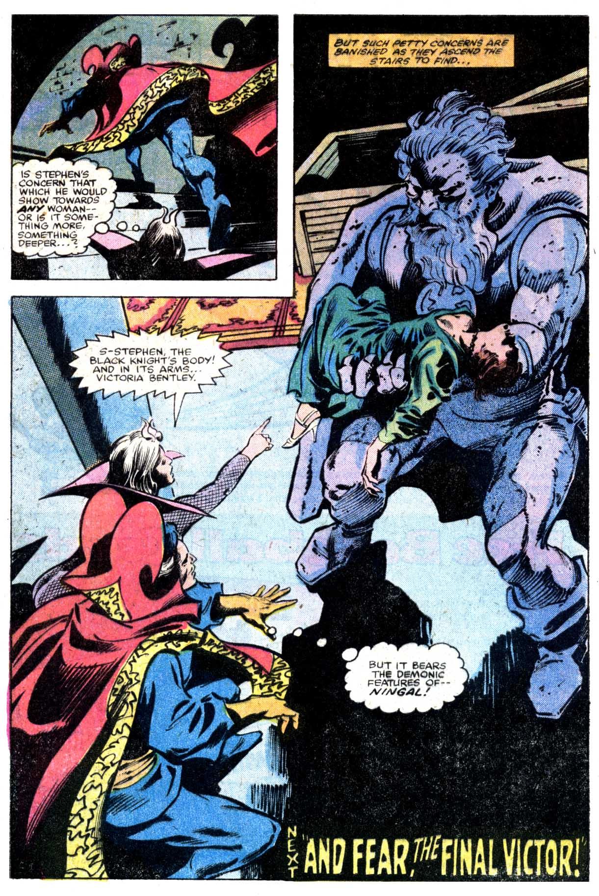 Doctor Strange (1974) 36 Page 18