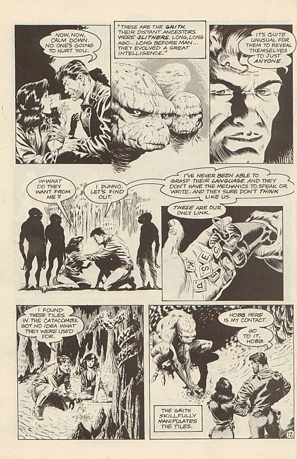 Read online Xenozoic Tales comic -  Issue #3 - 15