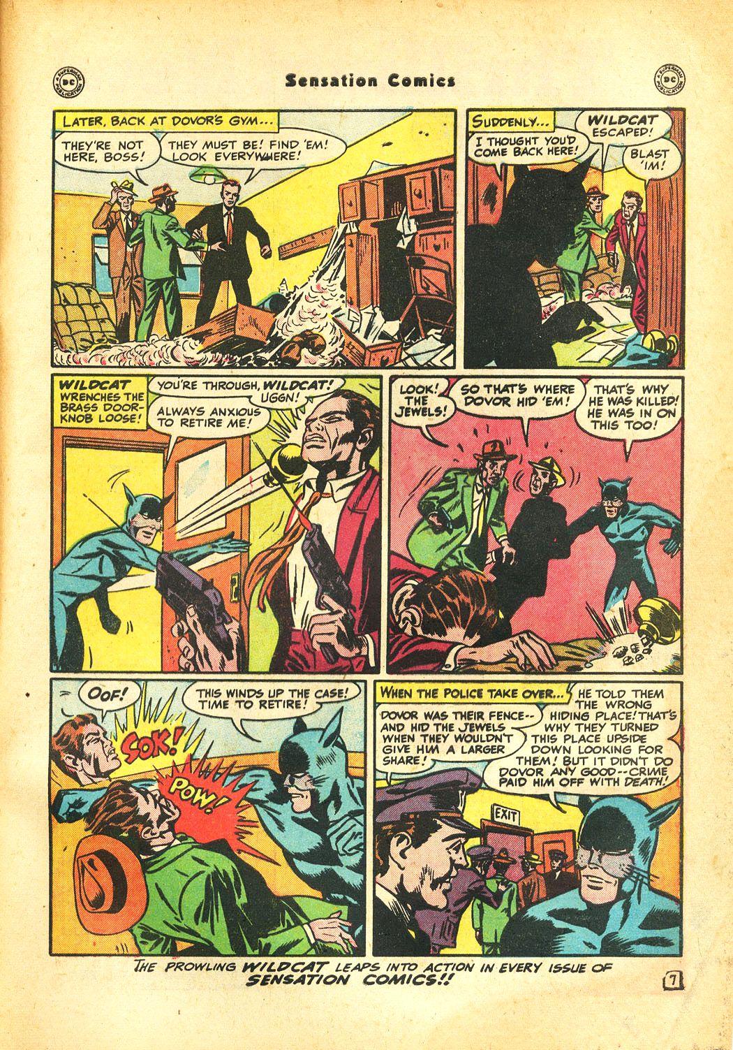 Read online Sensation (Mystery) Comics comic -  Issue #86 - 49