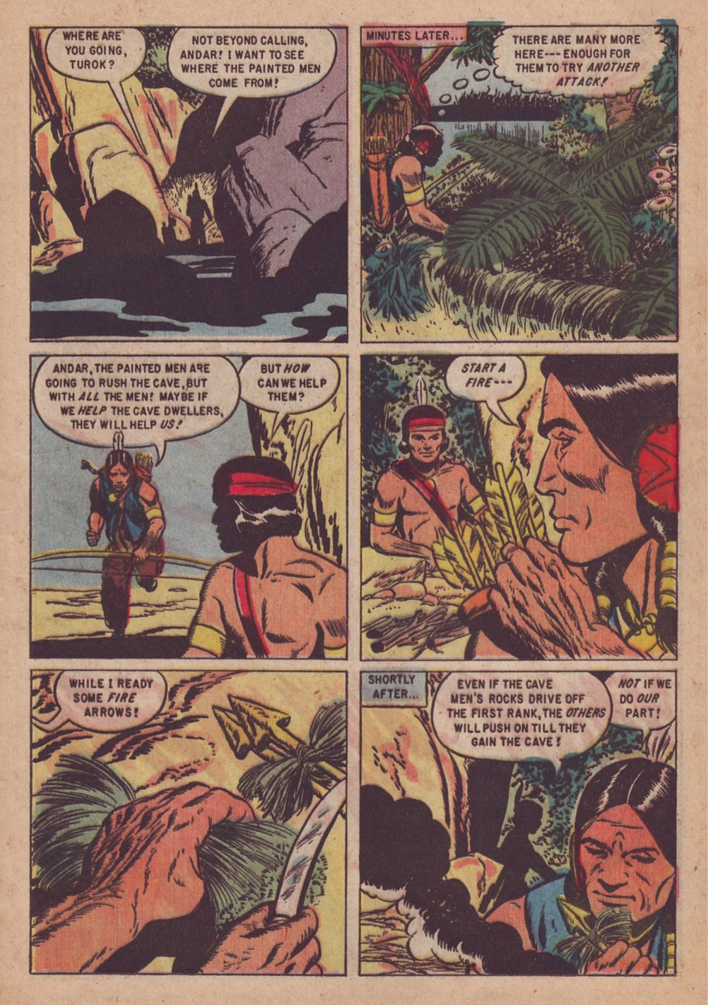 Read online Turok, Son of Stone comic -  Issue #9 - 13