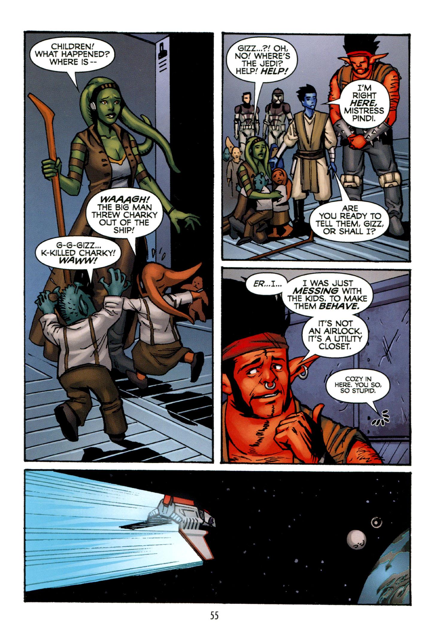 Read online Star Wars: The Clone Wars - Strange Allies comic -  Issue # Full - 56