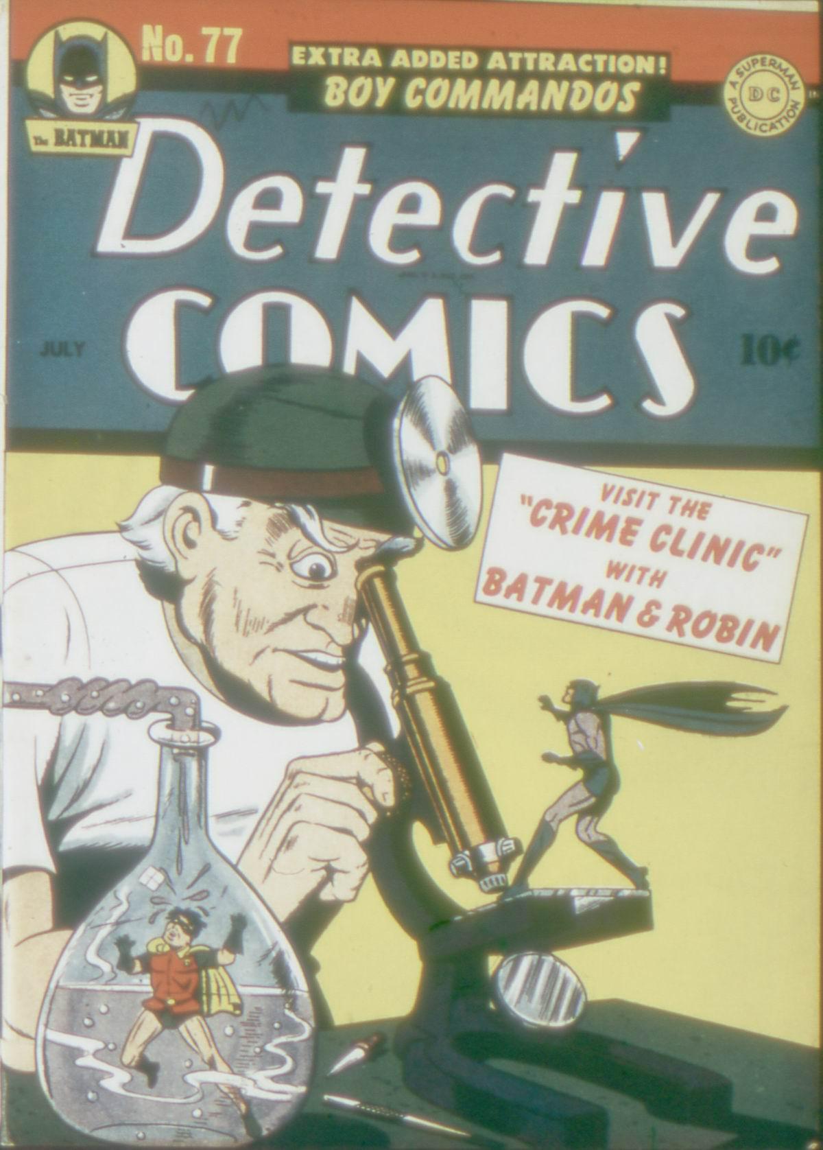 Read online Detective Comics (1937) comic -  Issue #77 - 1