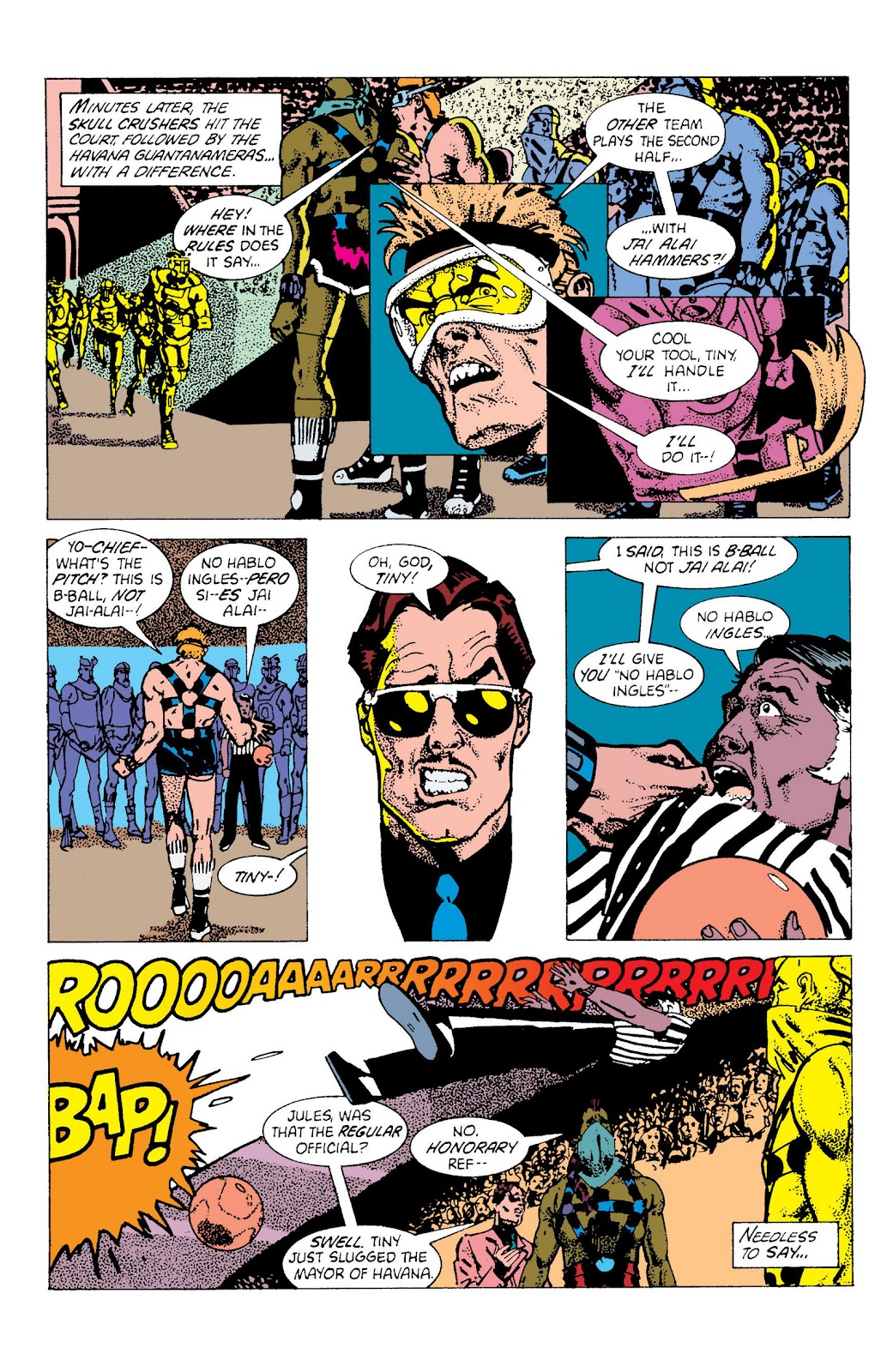 American Flagg! issue Definitive Collection (Part 2) - Page 55