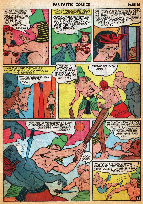 Read online Fantastic Comics comic -  Issue #22 - 25