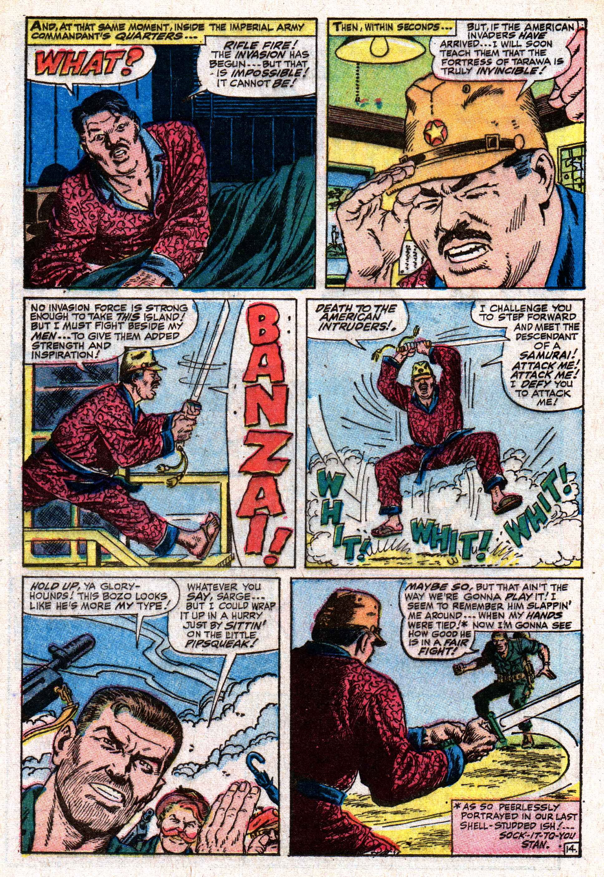 Read online Sgt. Fury comic -  Issue #50 - 20