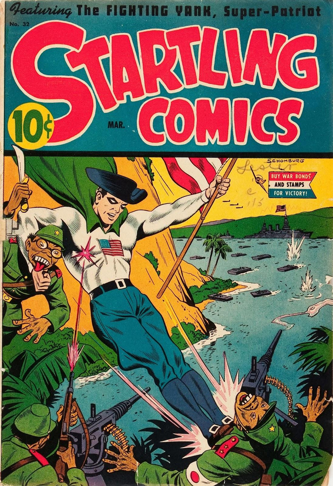 Startling Comics 32 Page 1