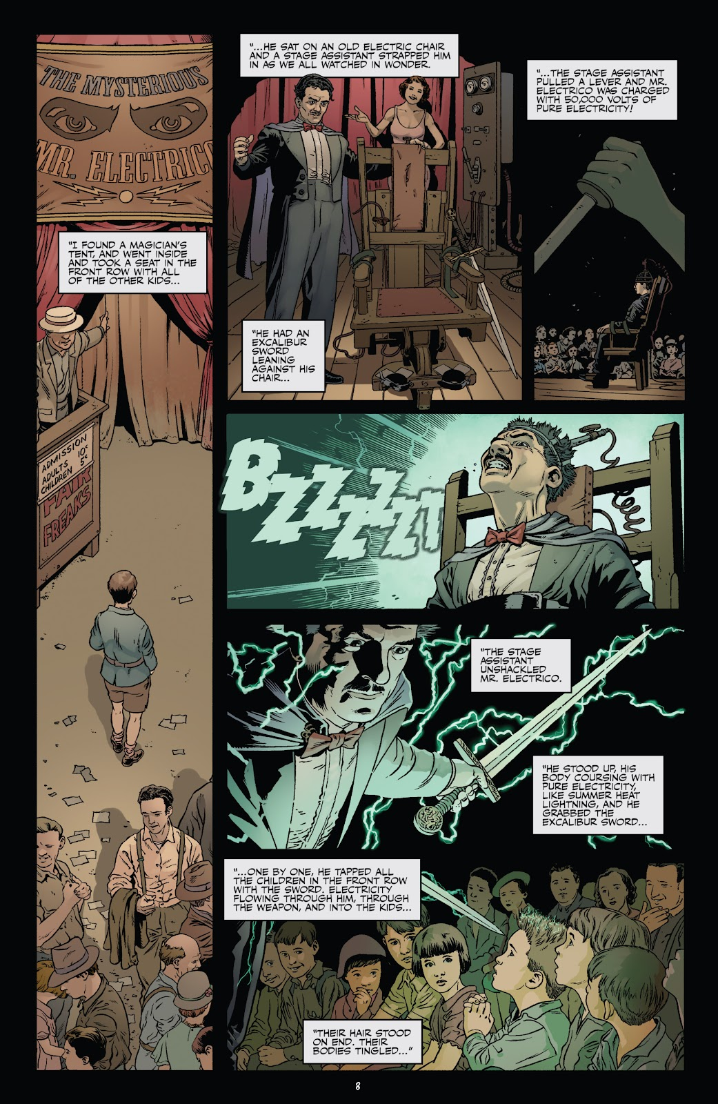 Read online Shadow Show: Stories in Celebration of Ray Bradbury comic -  Issue #3 - 10