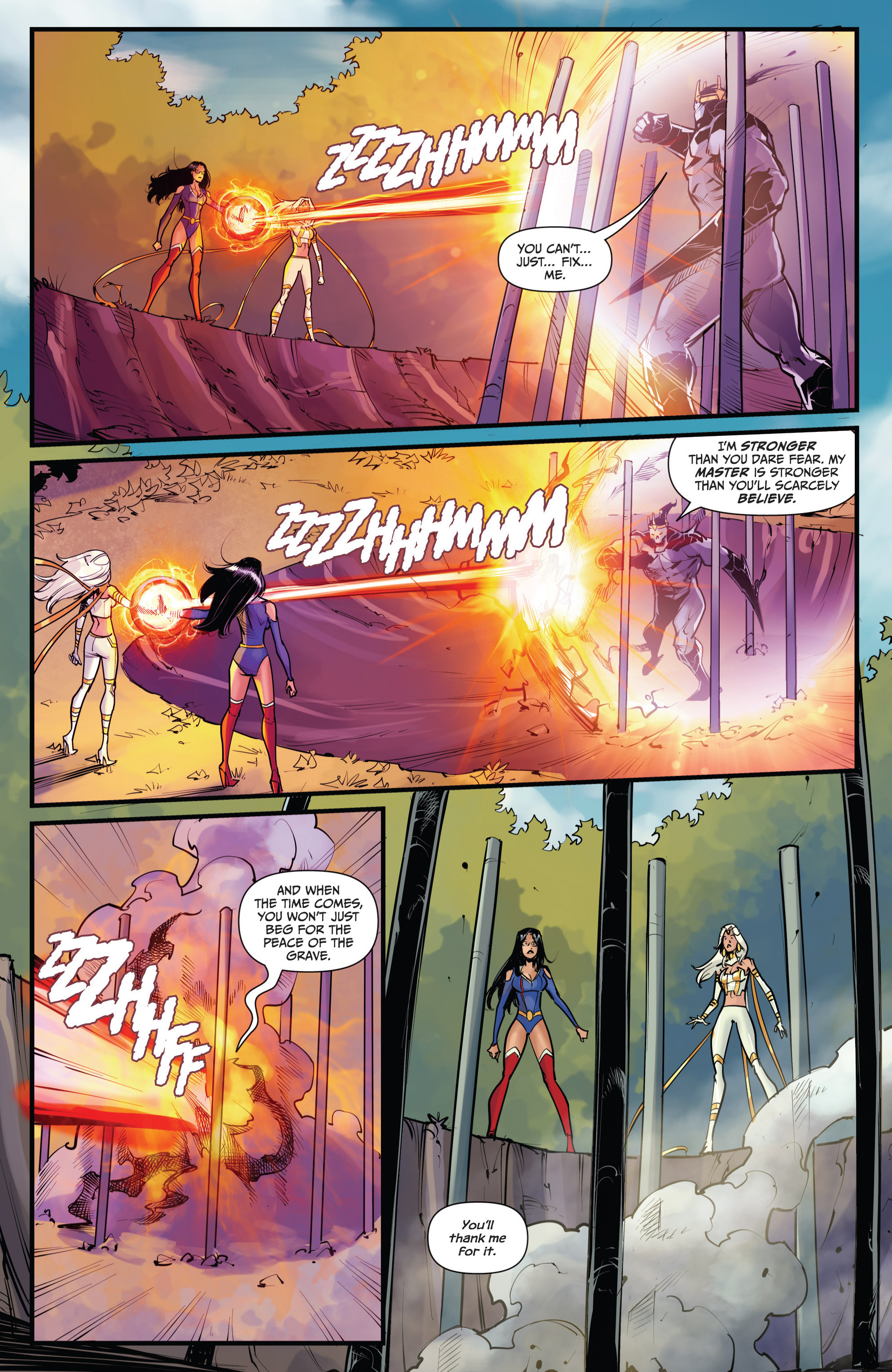 Read online Grimm Fairy Tales vs. Wonderland comic -  Issue #4 - 20