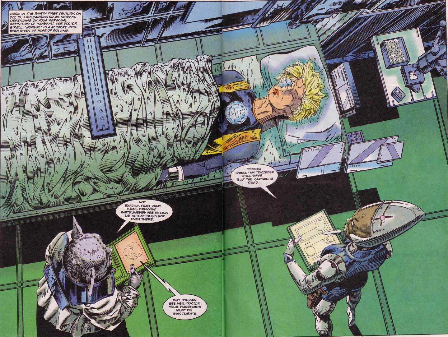 Read online Cyberspace 3000 comic -  Issue #4 - 11