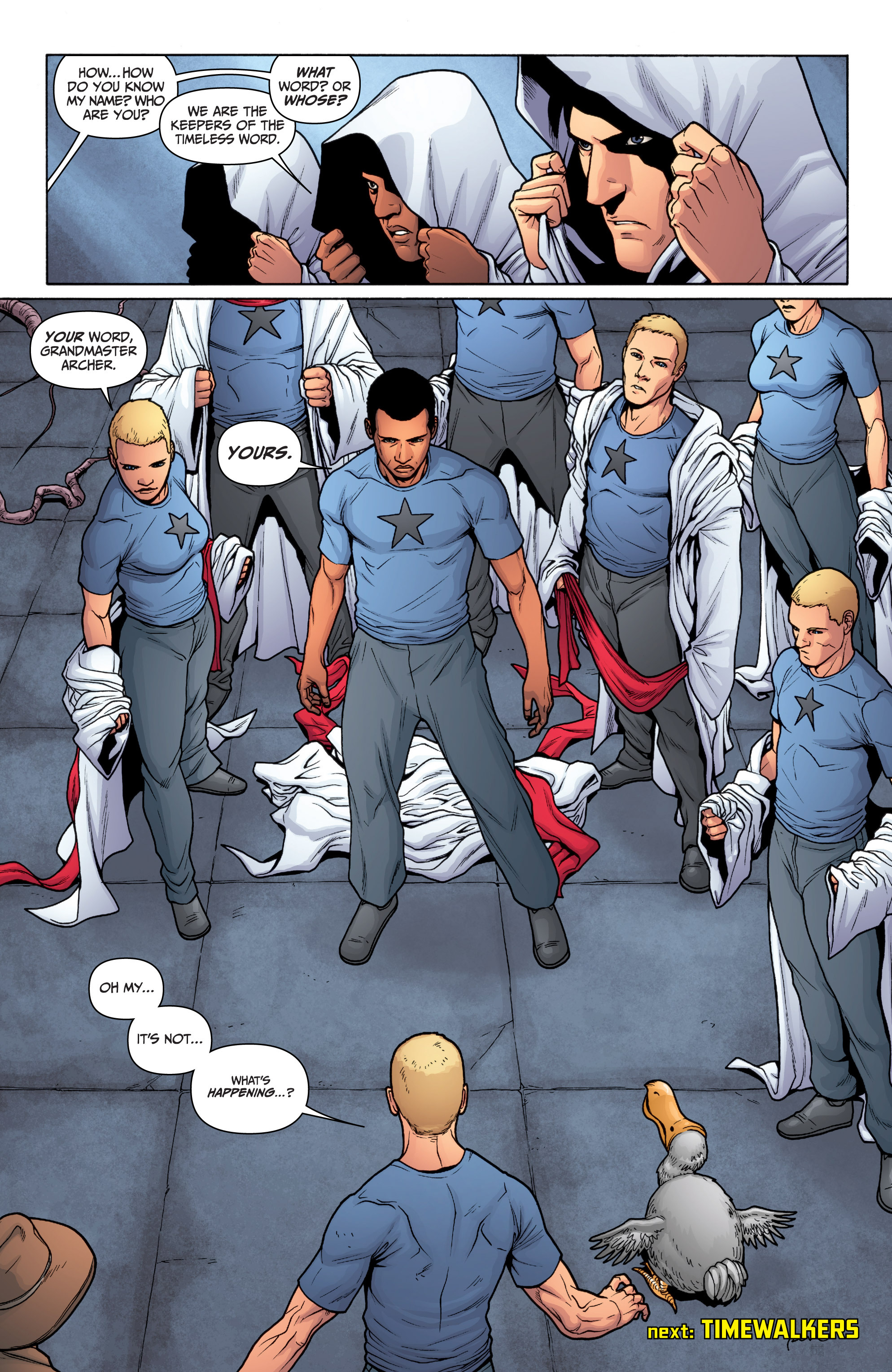 Read online Archer and Armstrong comic -  Issue #11 - 25