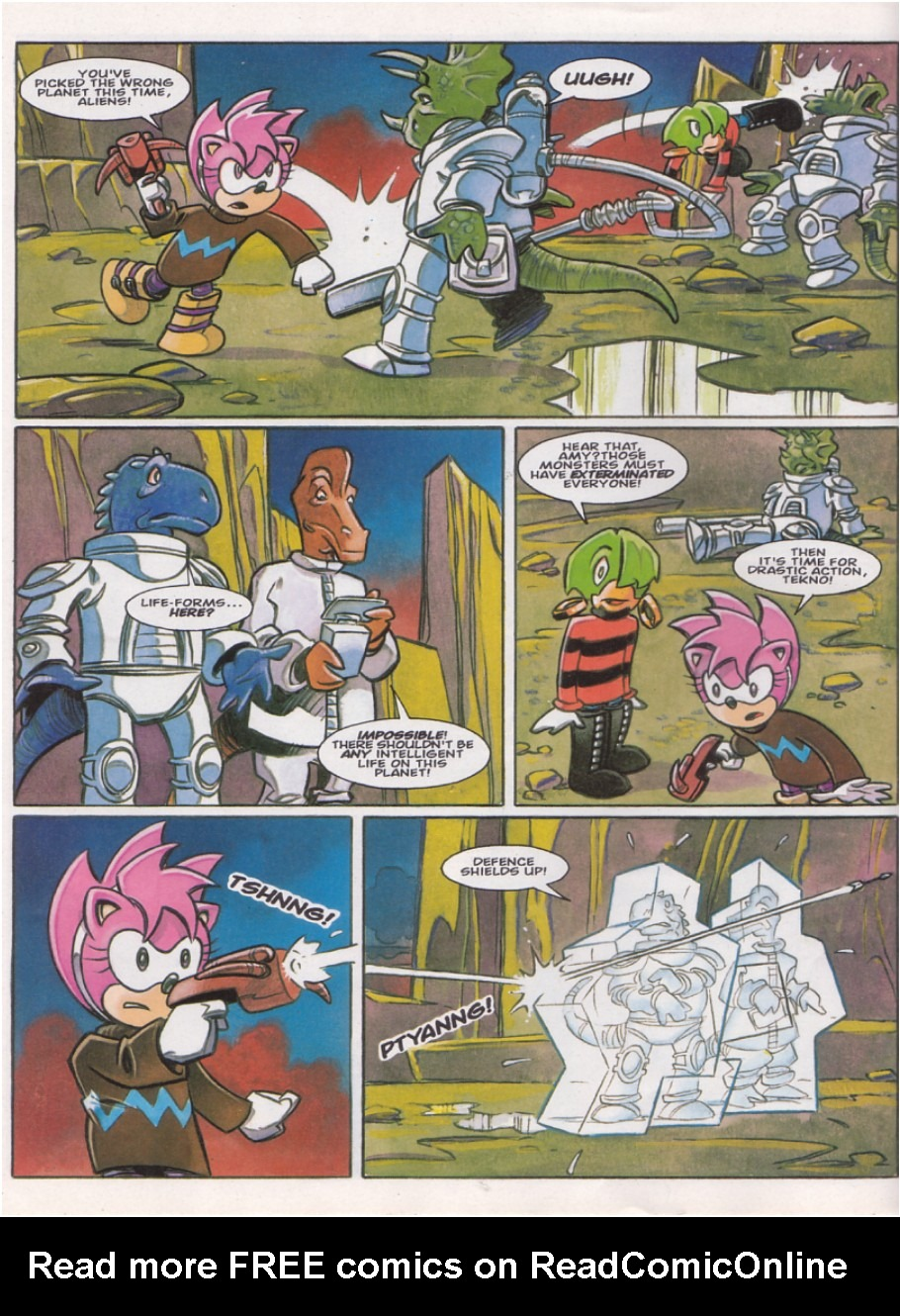 Read online Sonic the Comic comic -  Issue #142 - 11