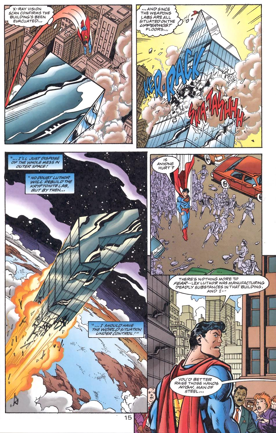 Read online Adventures of Superman (1987) comic -  Issue #566 - 16