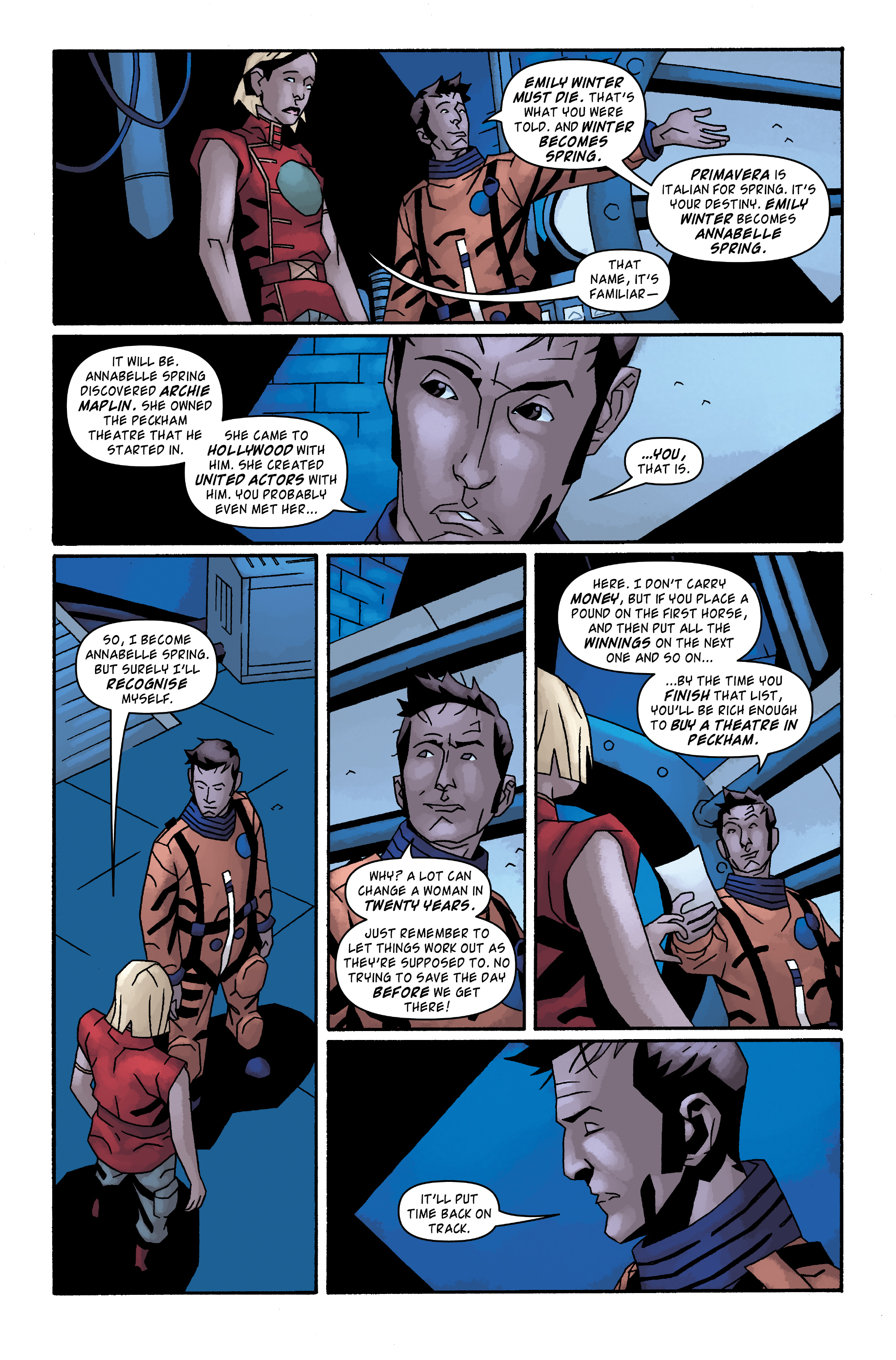 Read online Doctor Who: The Tenth Doctor Archives comic -  Issue #34 - 19