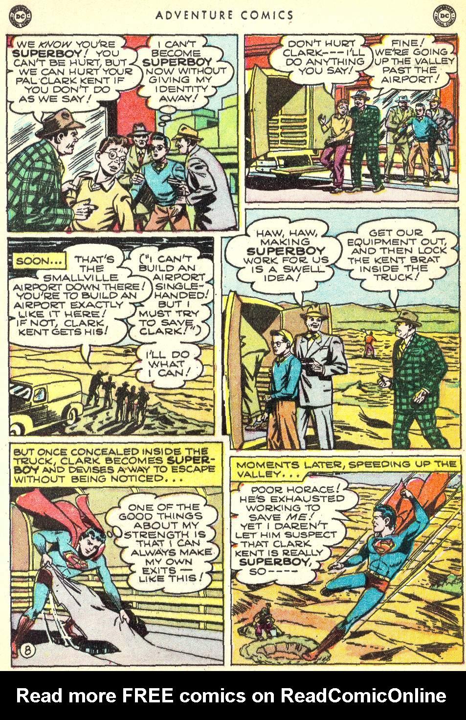 Read online Adventure Comics (1938) comic -  Issue #146 - 10