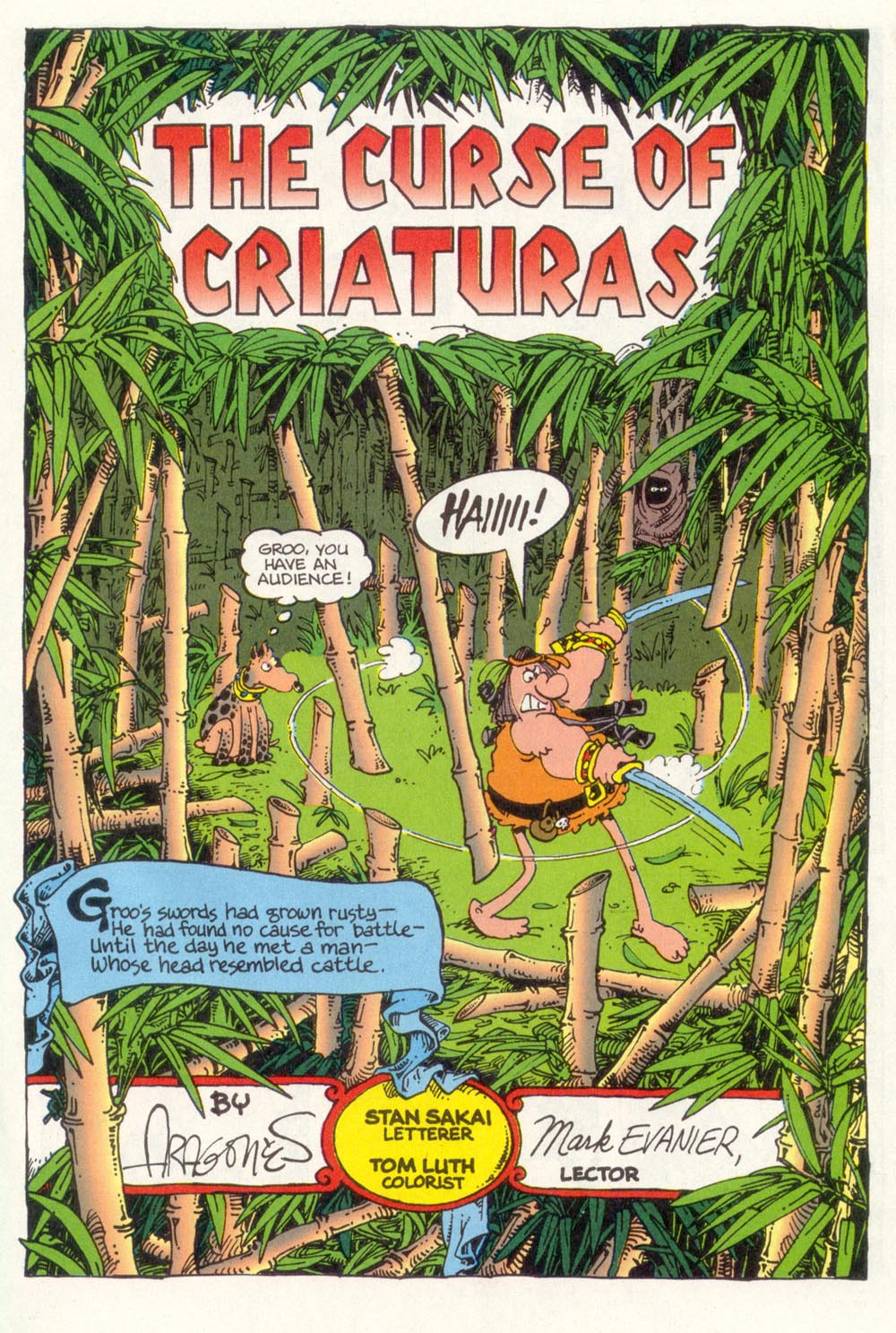 Read online Sergio Aragonés Groo the Wanderer comic -  Issue #105 - 3