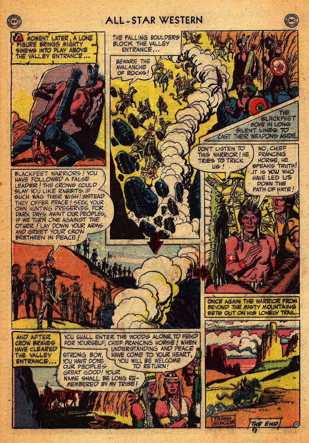 Read online All-Star Western (1951) comic -  Issue #58 - 48