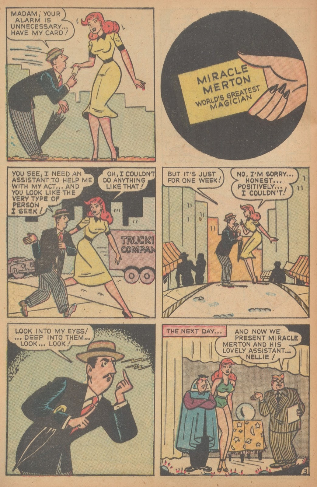 Read online Nellie The Nurse (1945) comic -  Issue #21 - 44