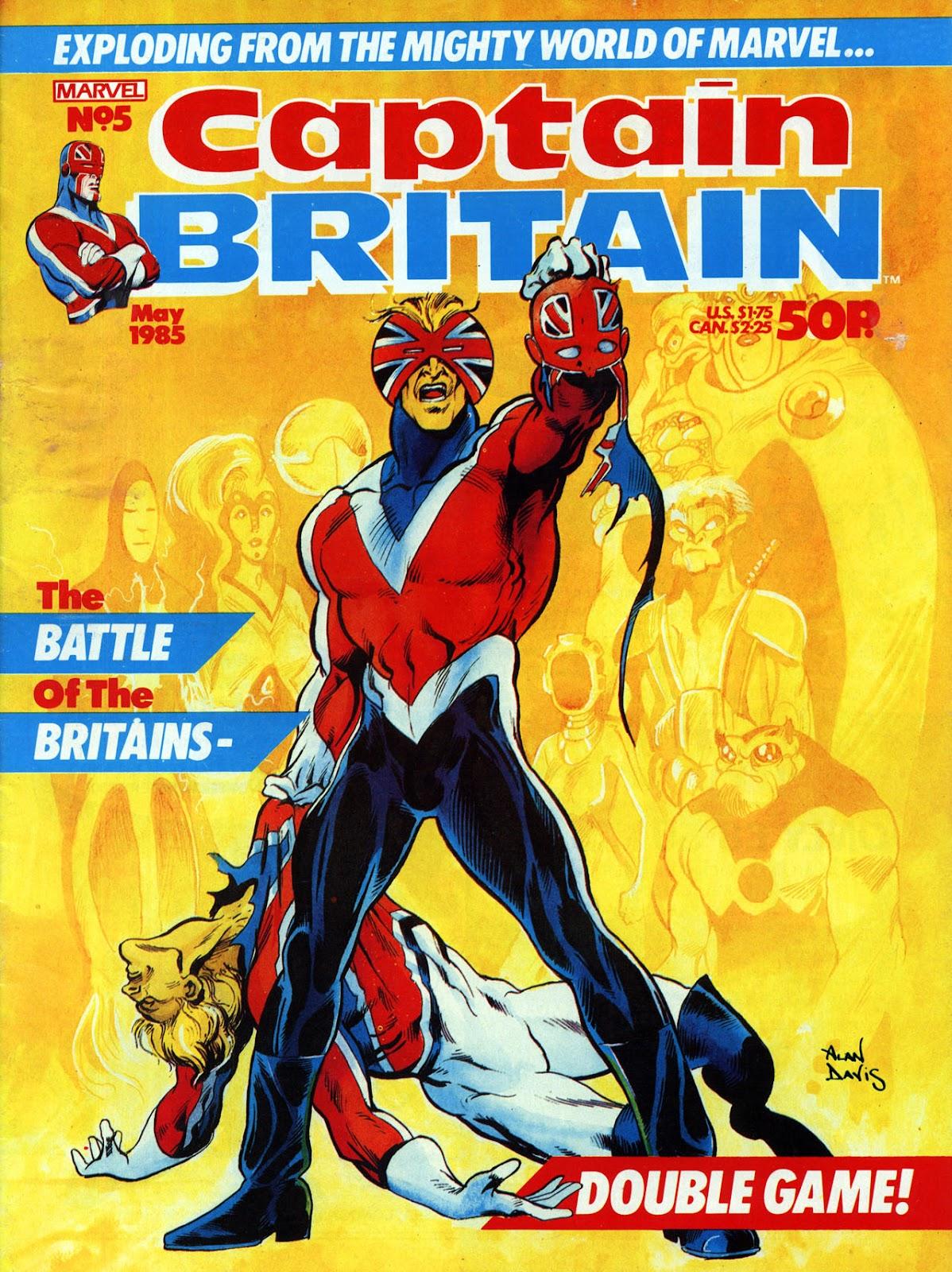 Captain Britain (1985) 5 Page 1