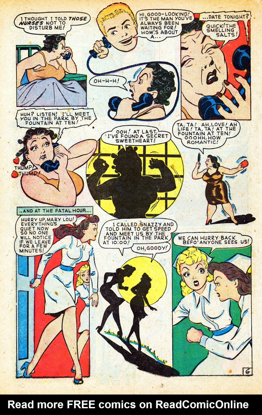 Read online Nellie The Nurse (1945) comic -  Issue #12 - 34