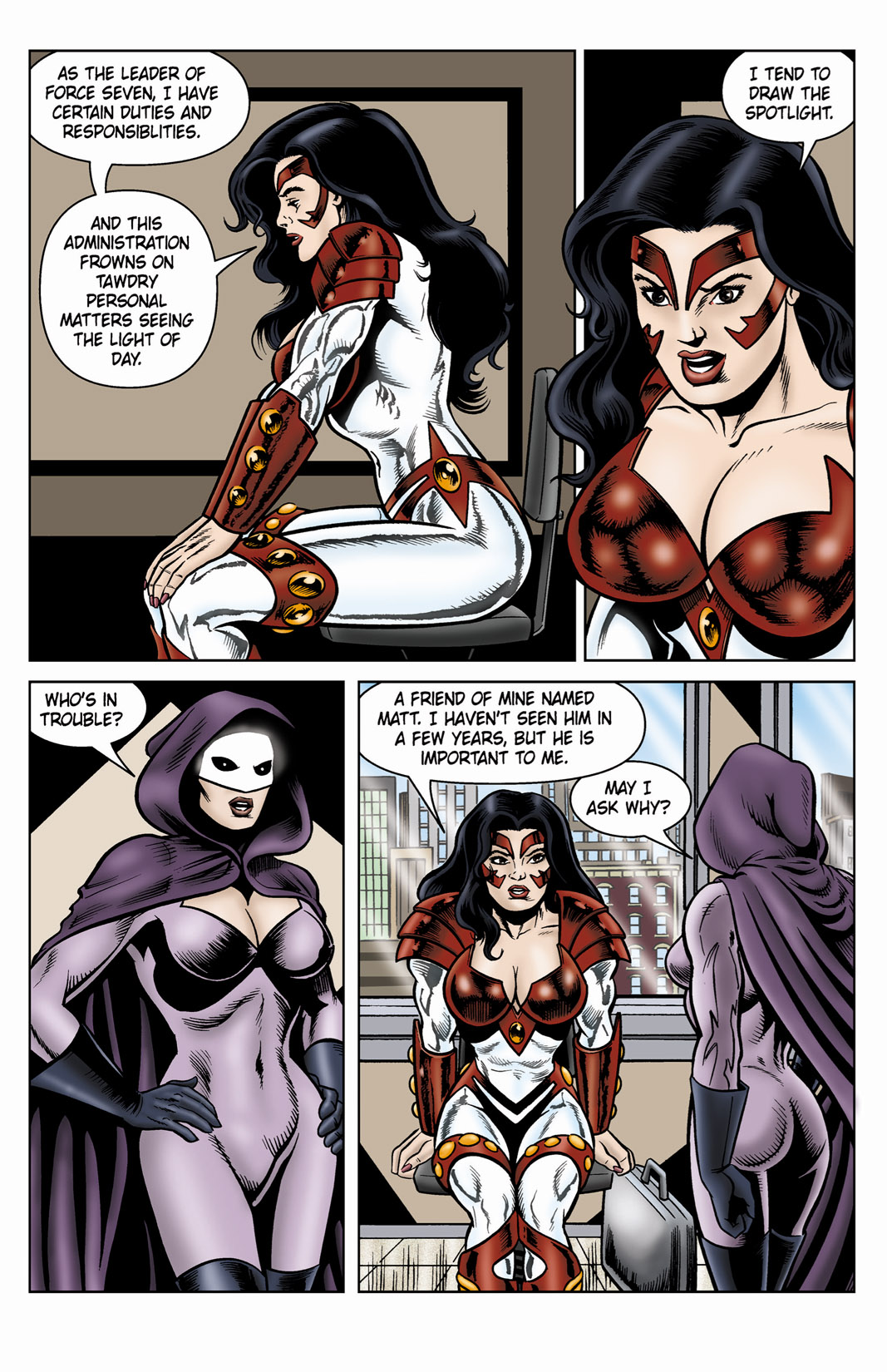 Read online SideChicks comic -  Issue #4 - 8